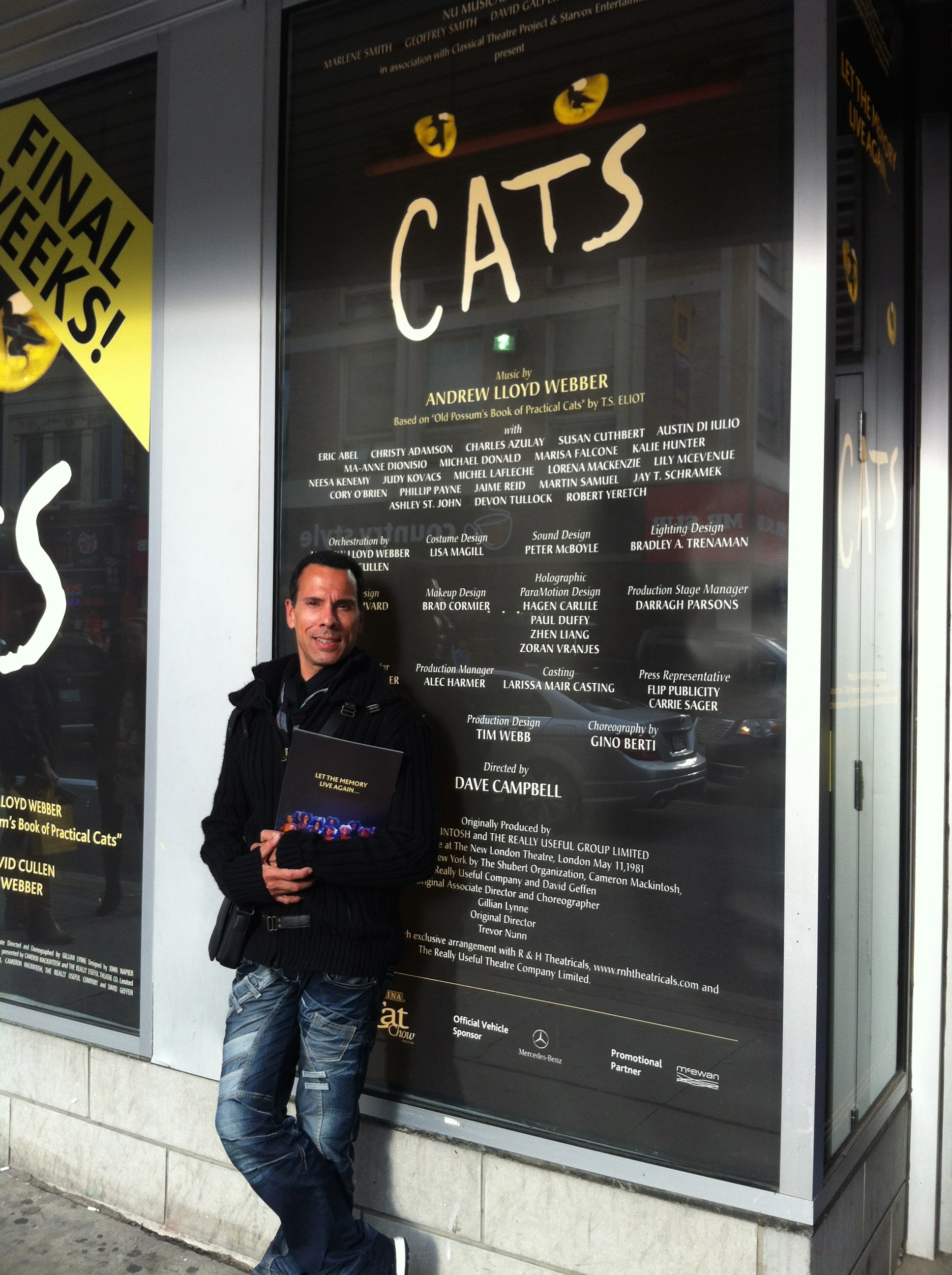 Canadian Revival of Cats, at the Panasonic Theatre