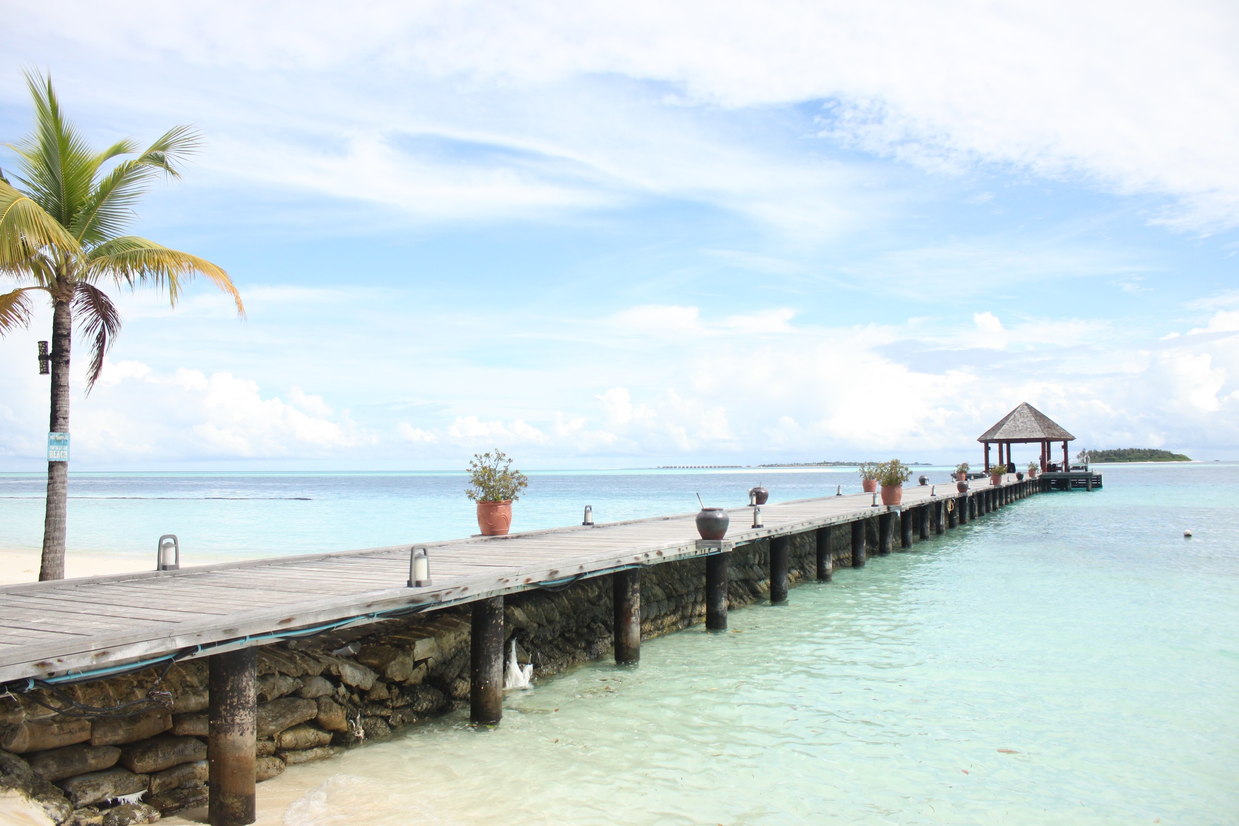 Jetti to the island/resort of Komandoo in the Lhaviyani Atoll