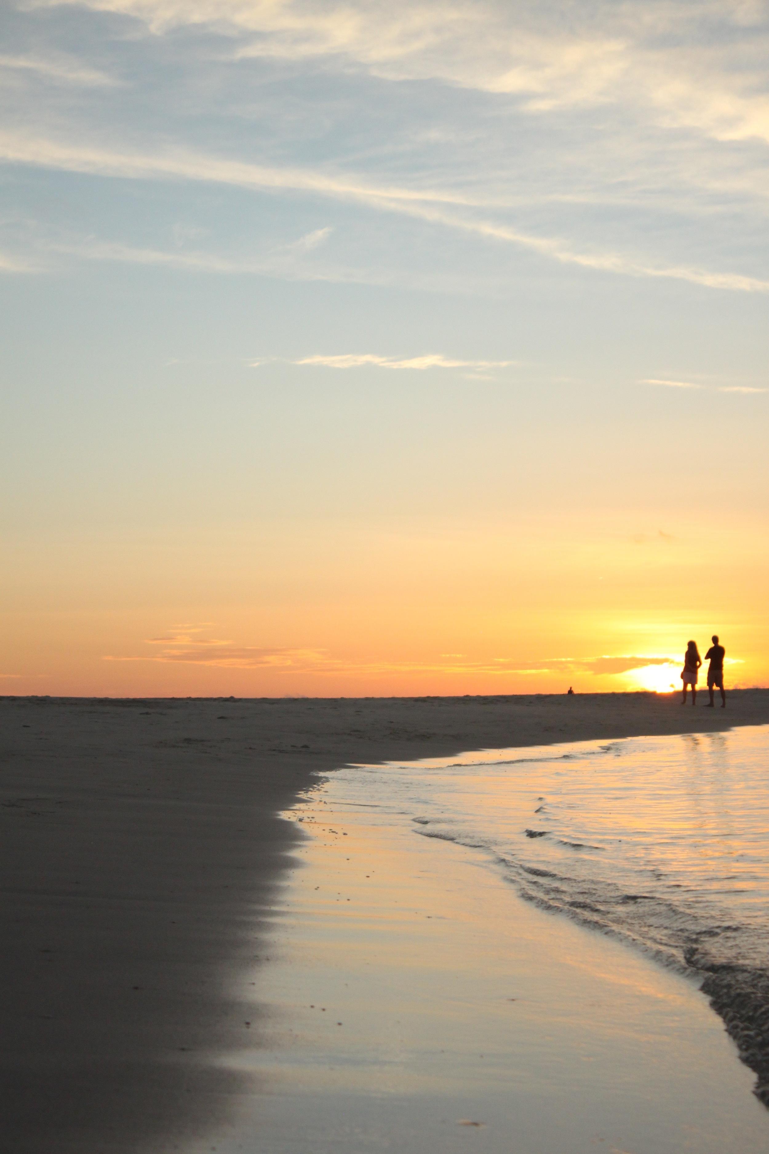 sunset at Kuredu Island & Resort