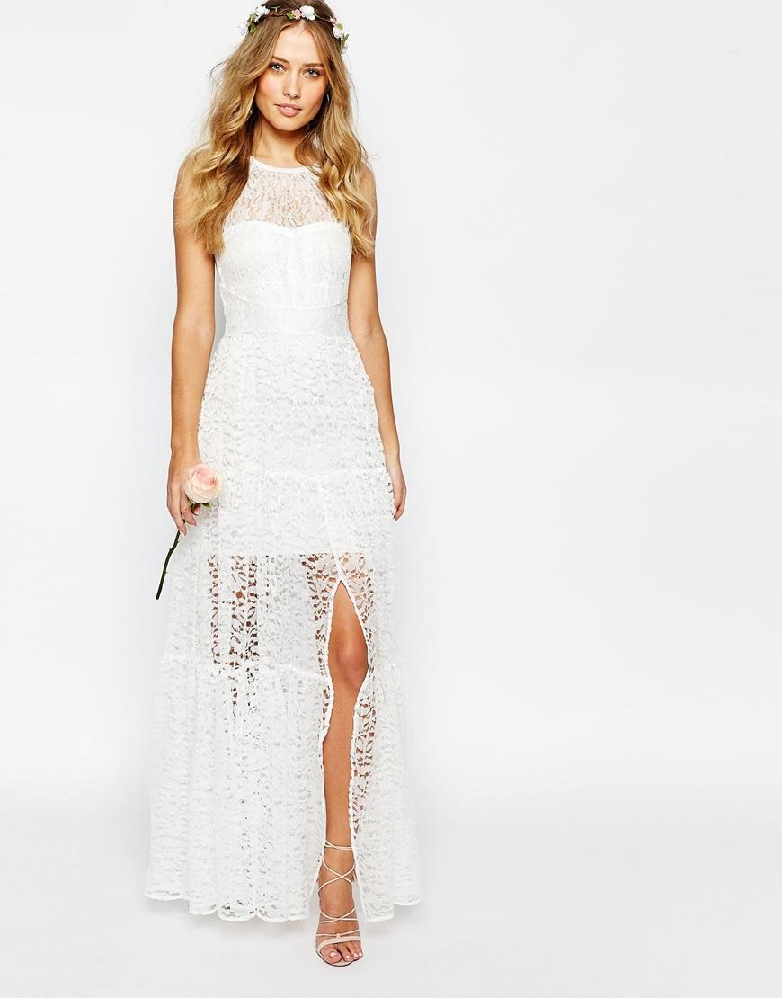 http://us.asos.com/Body-Frock-Brides-Tiered-Lace-Dress/18o6e1/?iid=6086821&clr=Ivory&SearchQuery=lace+dress+white&pgesize=36&pge=0&totalstyles=193&gridsize=3&gridrow=10&gridcolumn=1&mporgp=L2JvZHktZnJvY2svYm9keS1mcm9jay1icmlkZXMtdGllcmVkLWxhY2UtZHJlc3MvcHJvZC8.