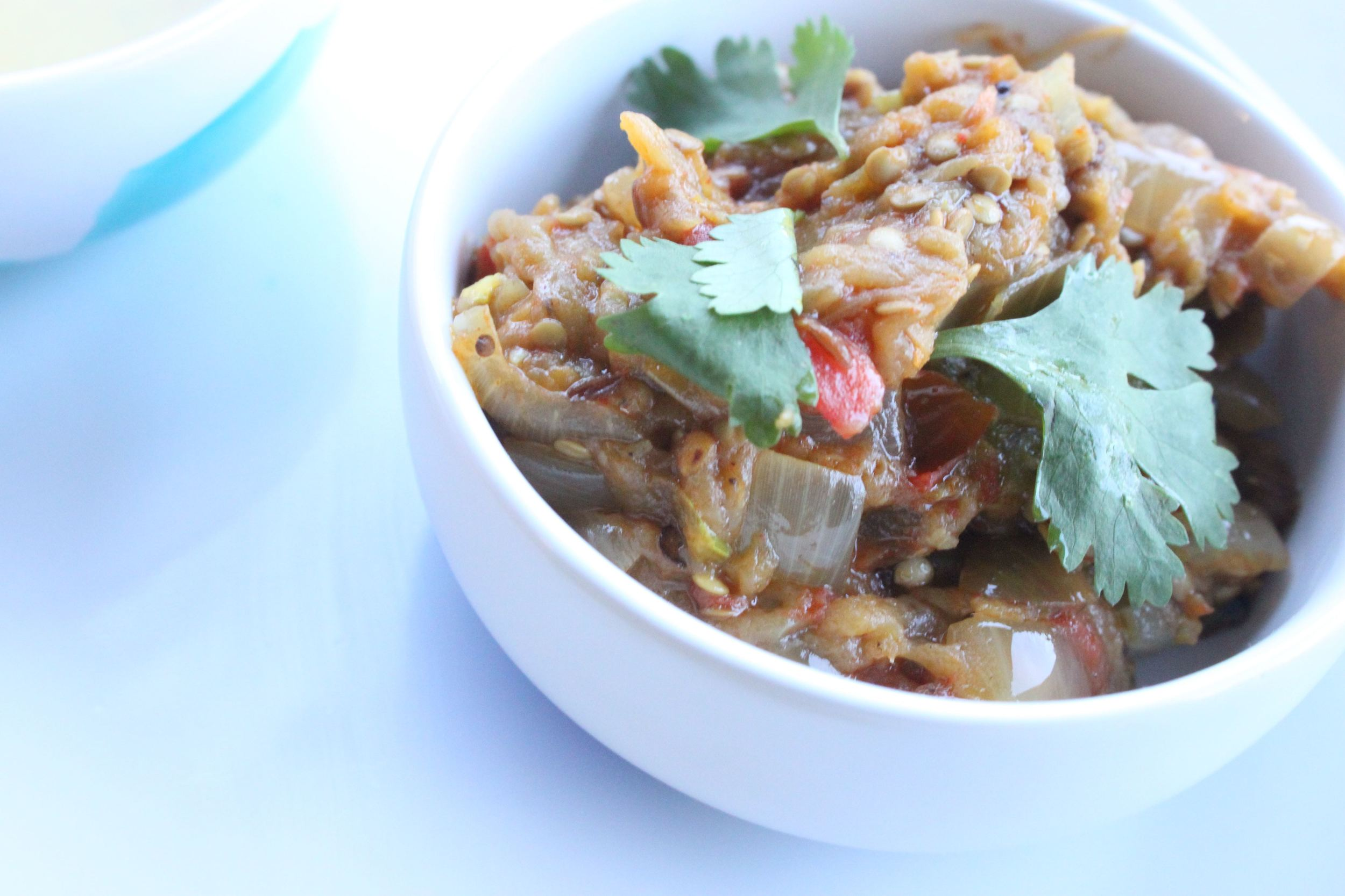 baingan bhurta recipe vegetarian indian charisma shah