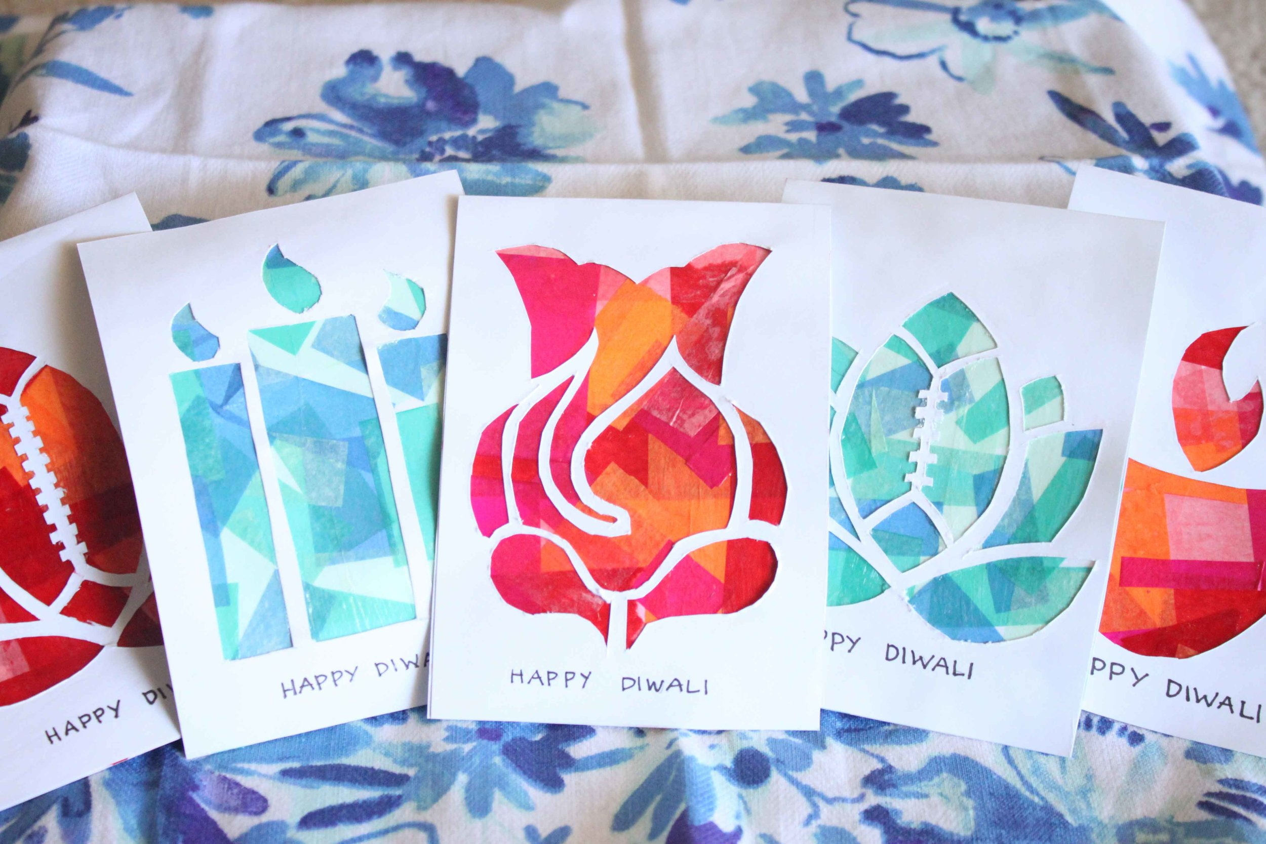 yes that is a football lotus diwali card for my brothers :)