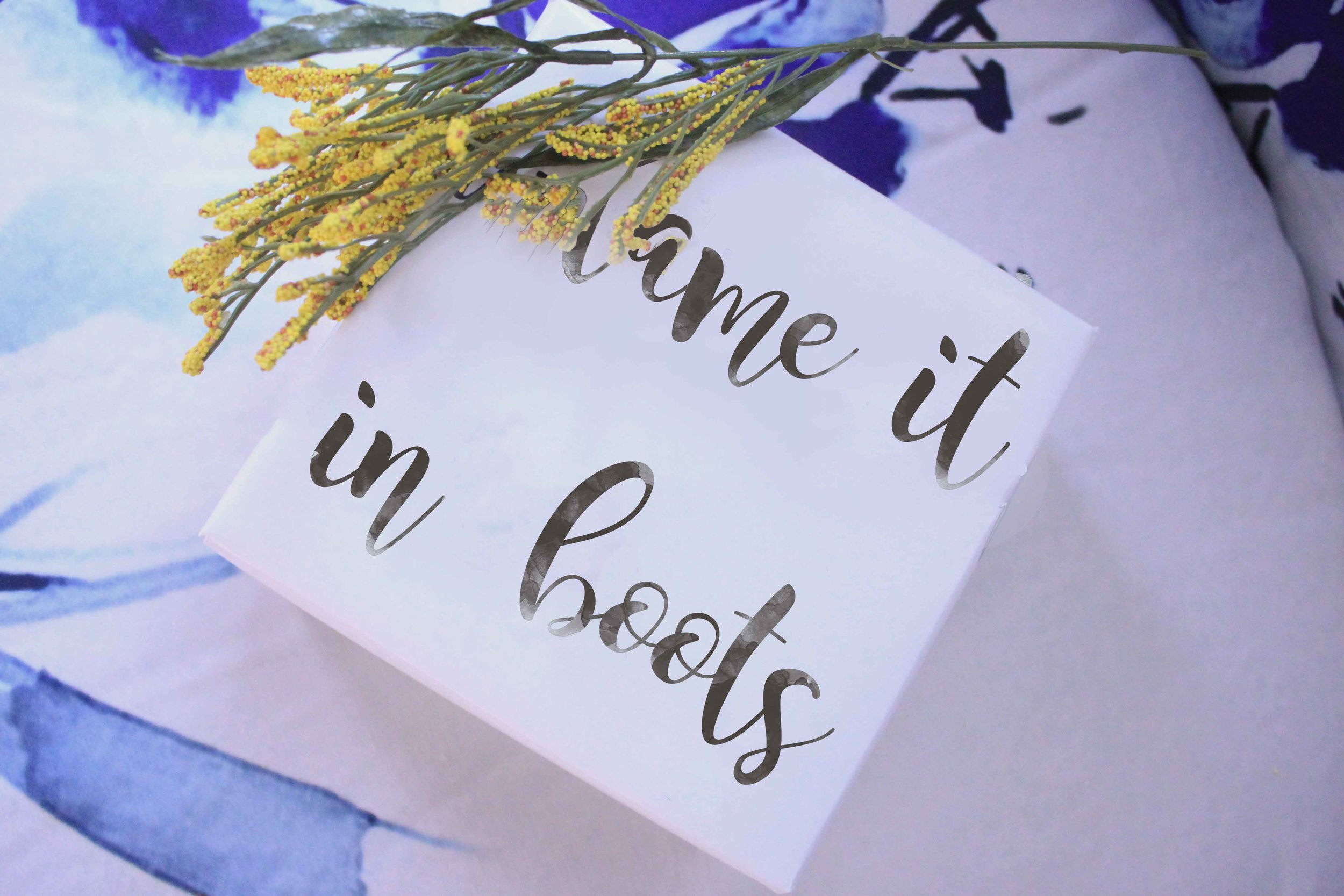 blame it all on my roots gift wrapping paper hand lettered charisma shah