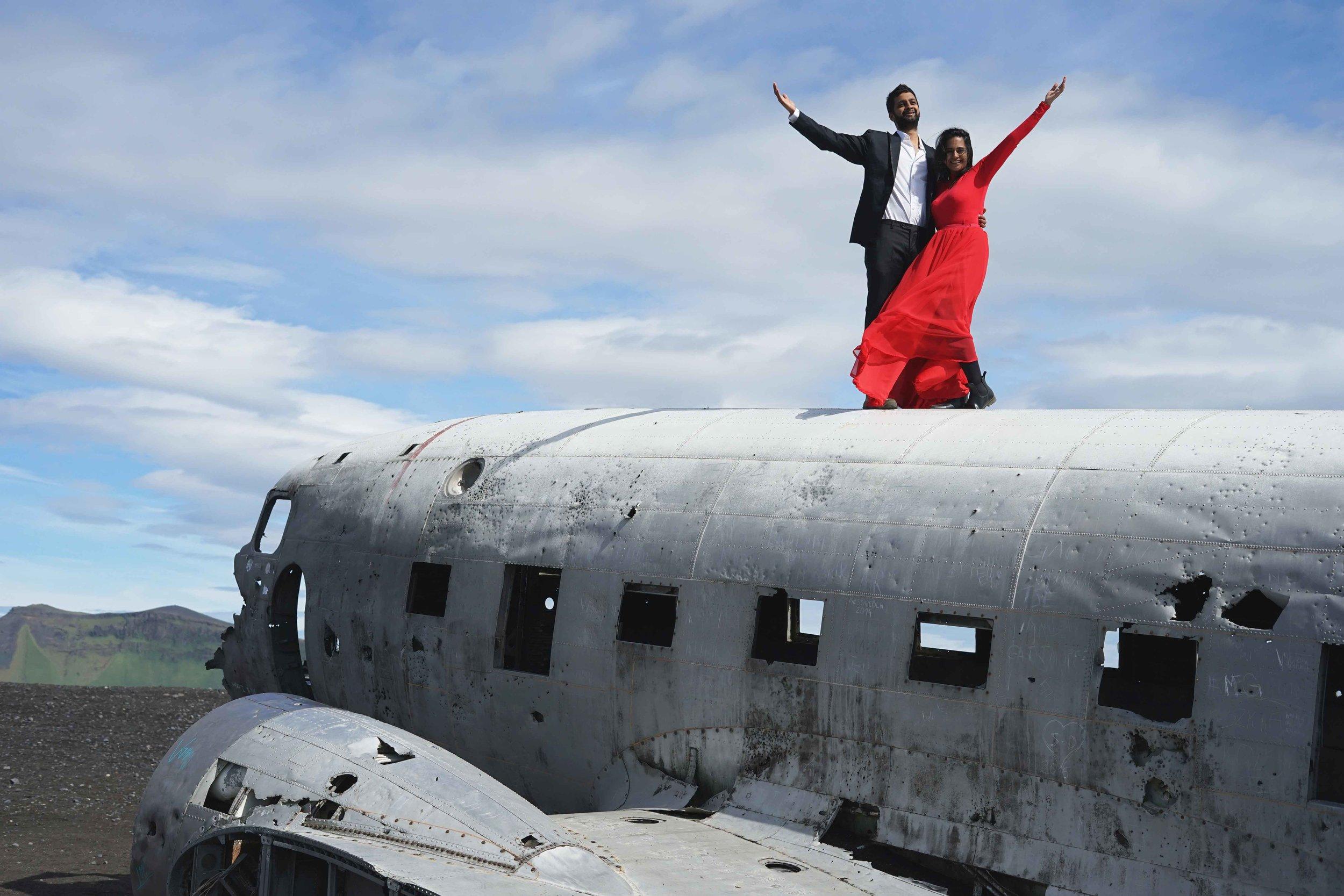 plane crash Solheimasandur Iceland Travel Guide charisma shah