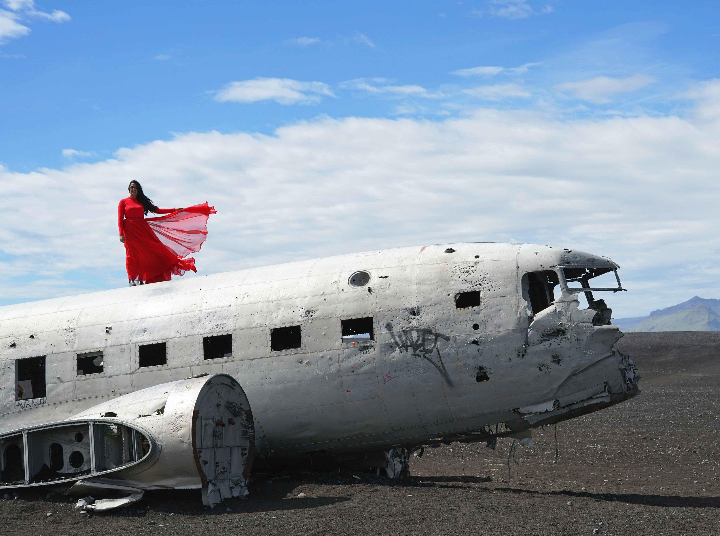 Solheimasandur plane crash Iceland travel guide charisma shah