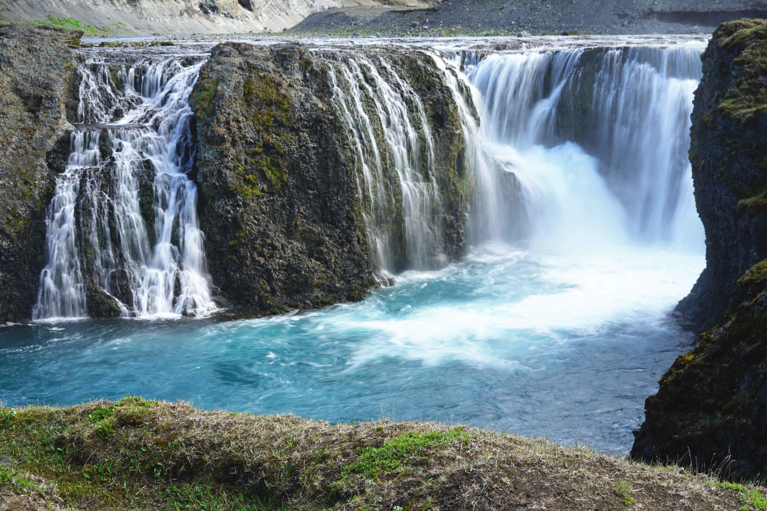 Sigoldüfoss waterfall