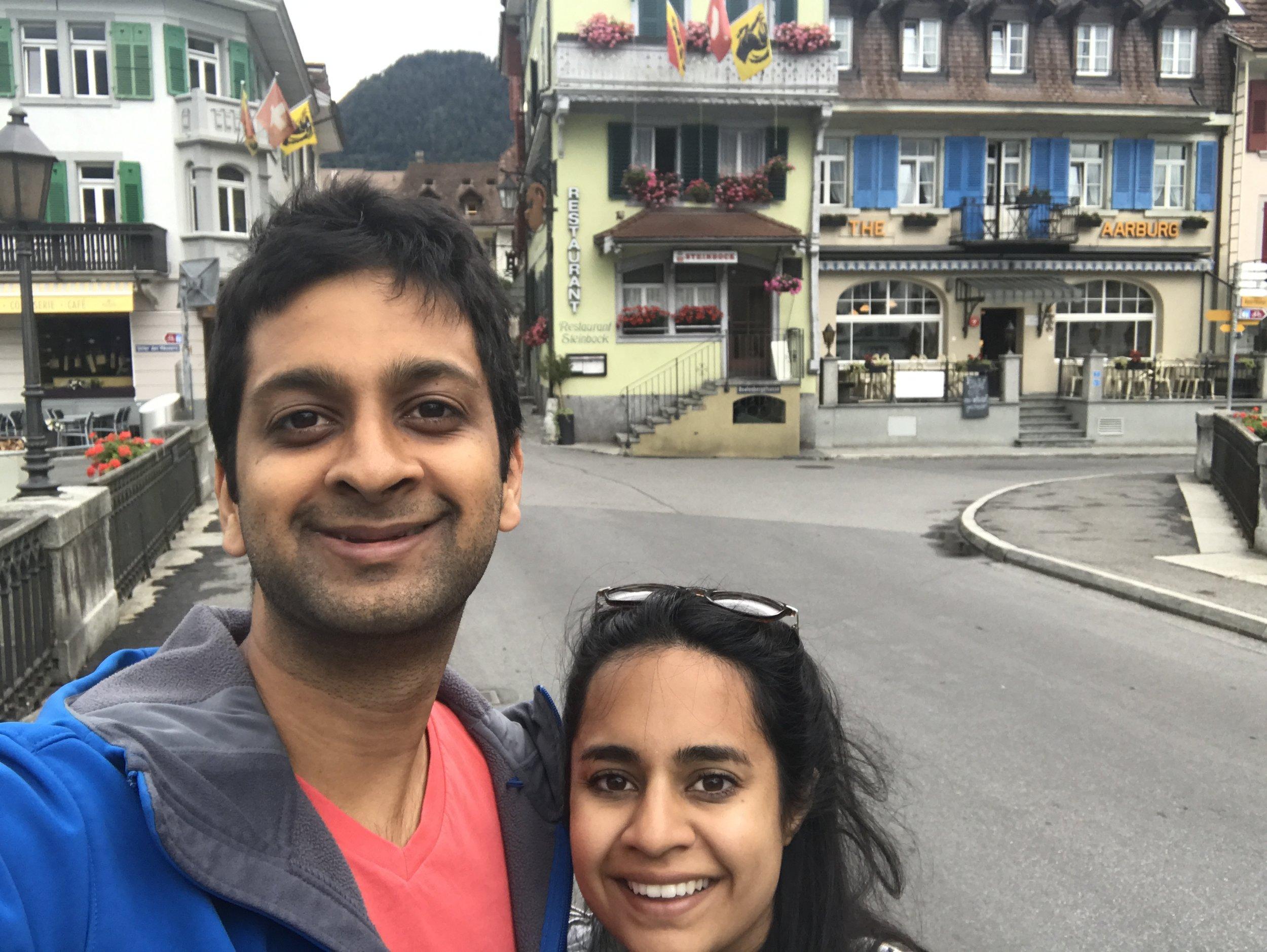 The Aaburg Hotel in Interlaken