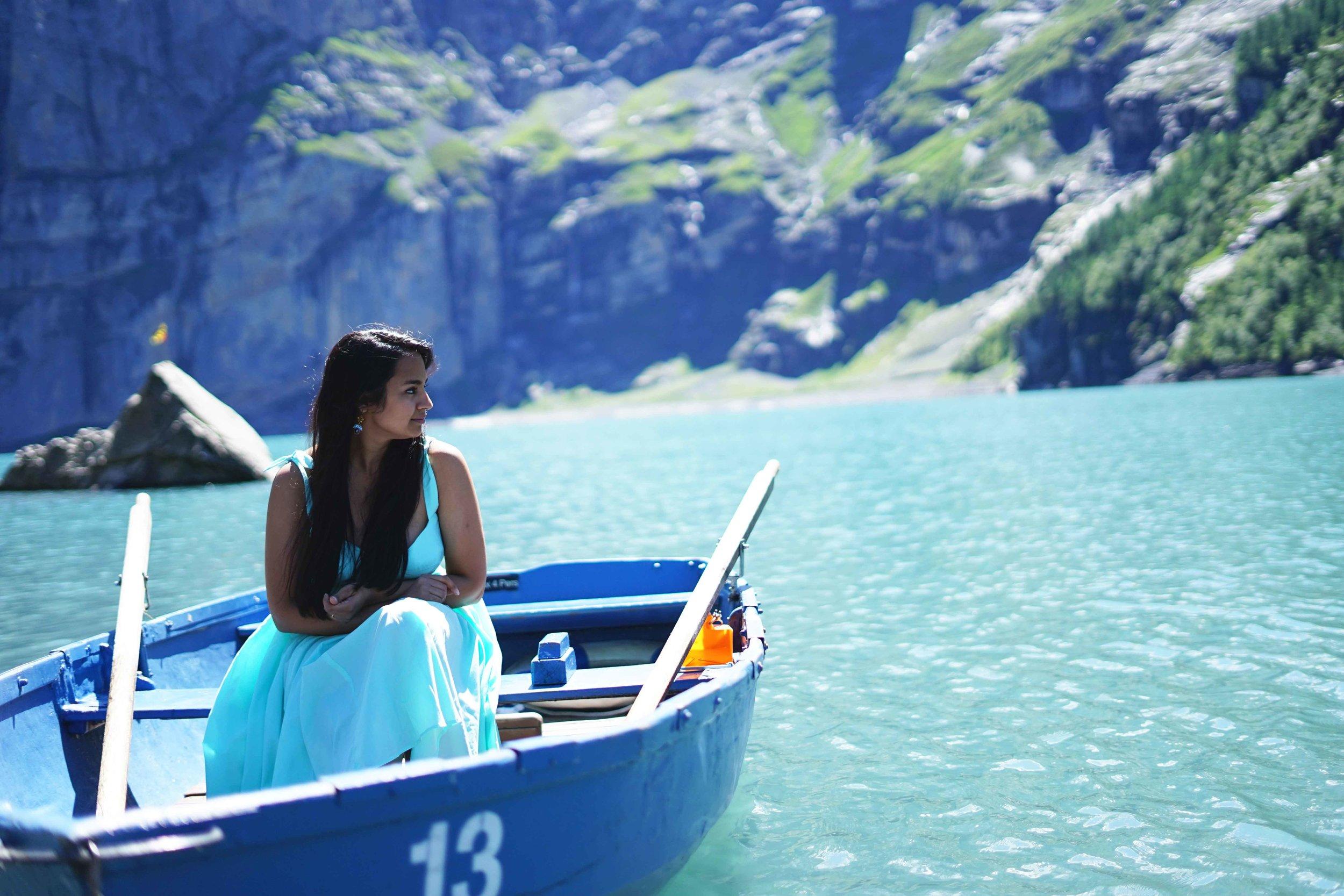 Lake Oeschinesee Kandersteg Switzerland Travel Guide Charisma Shah