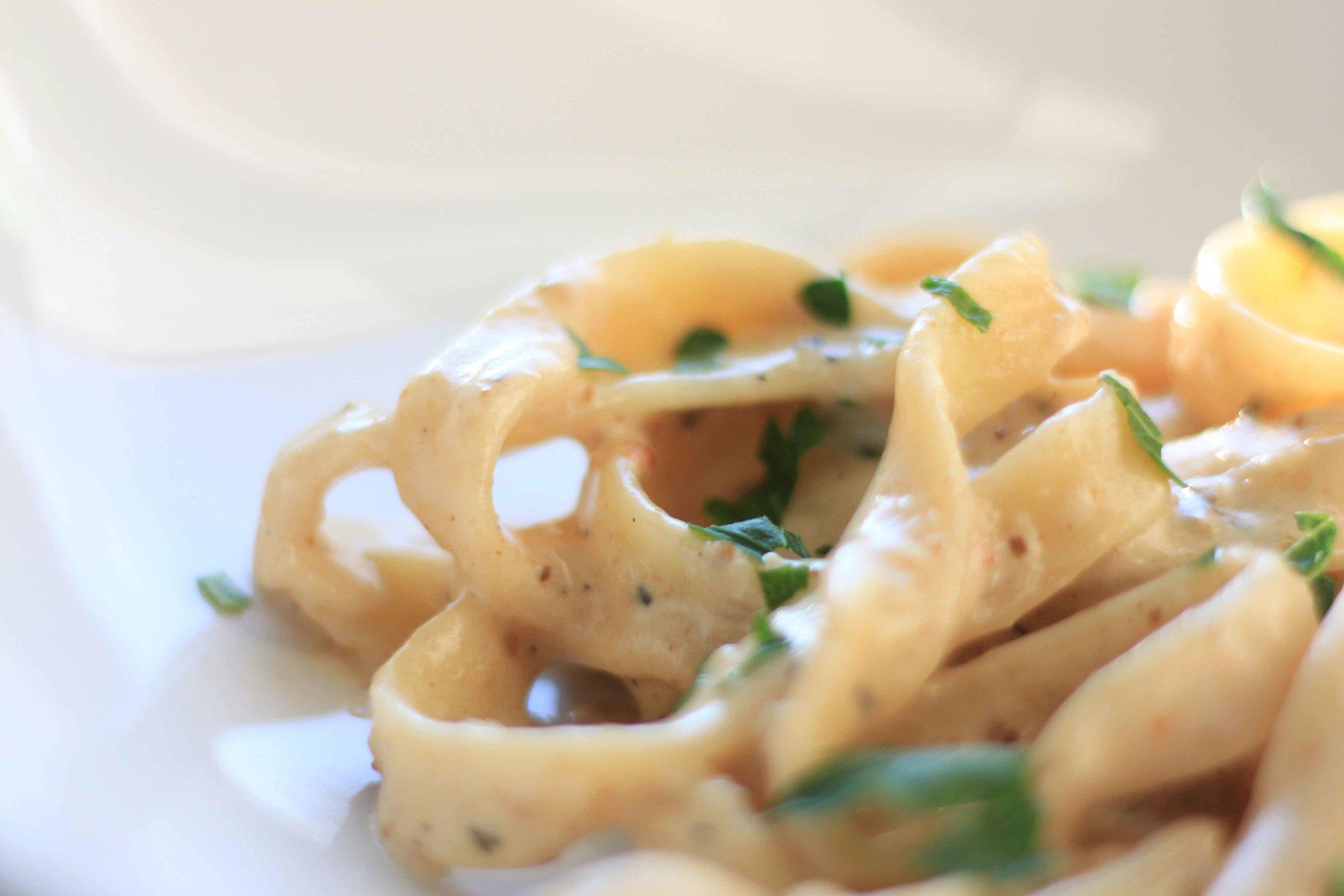 Truffled Mushroom Fettuccine Recipe Charisma Shah