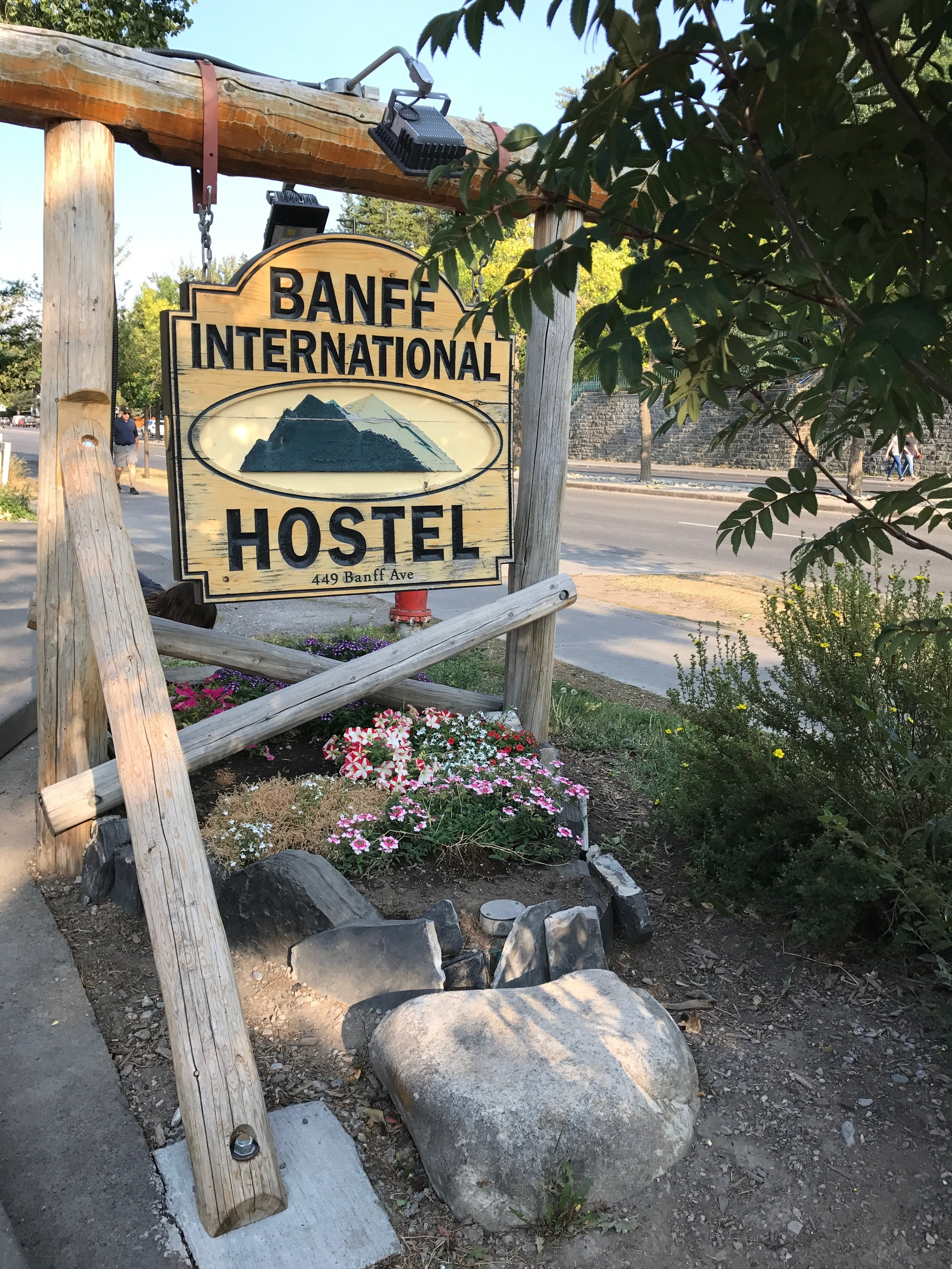 Banff International Hostel Itinerary Tour Guide Canada Charisma Shah