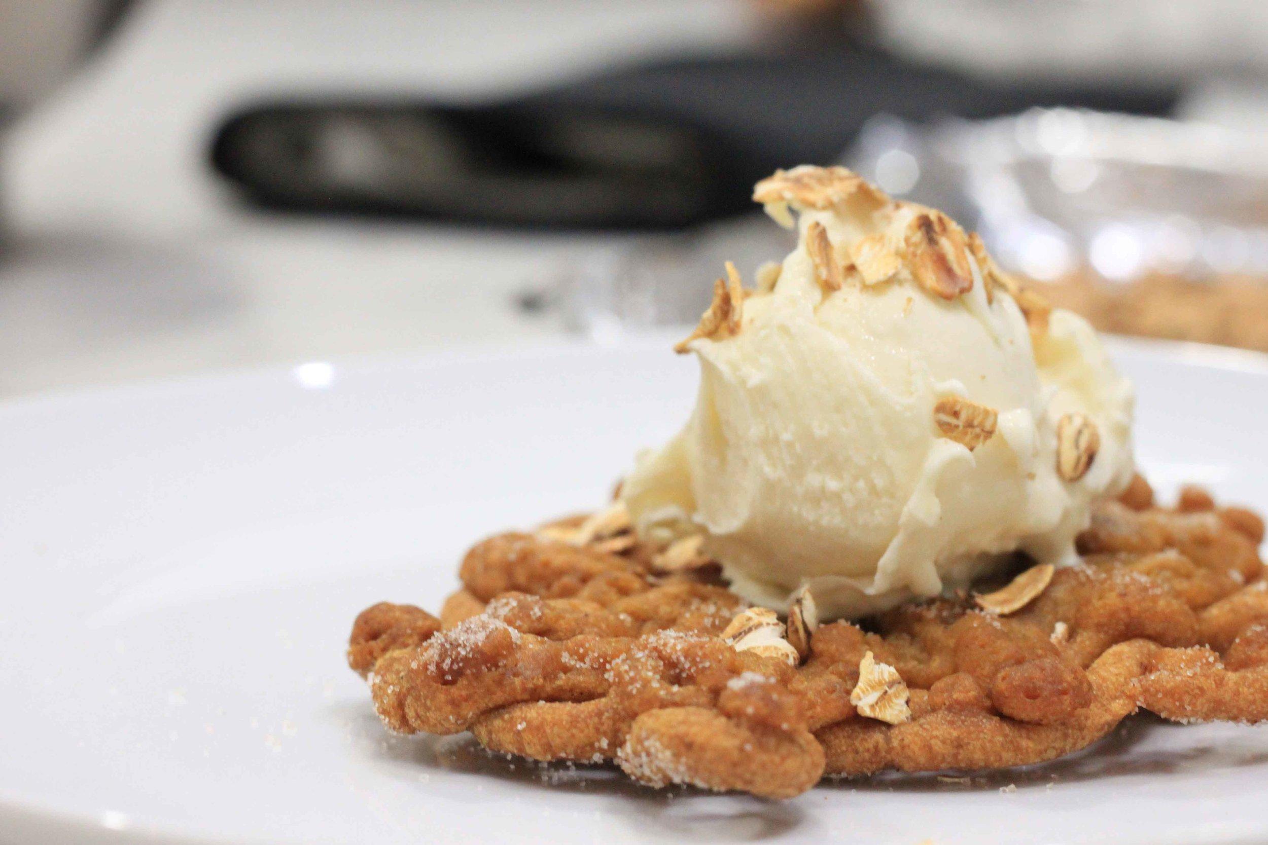Churro Pumpkin Pie Funnel Cake Recipe Charisma Shah
