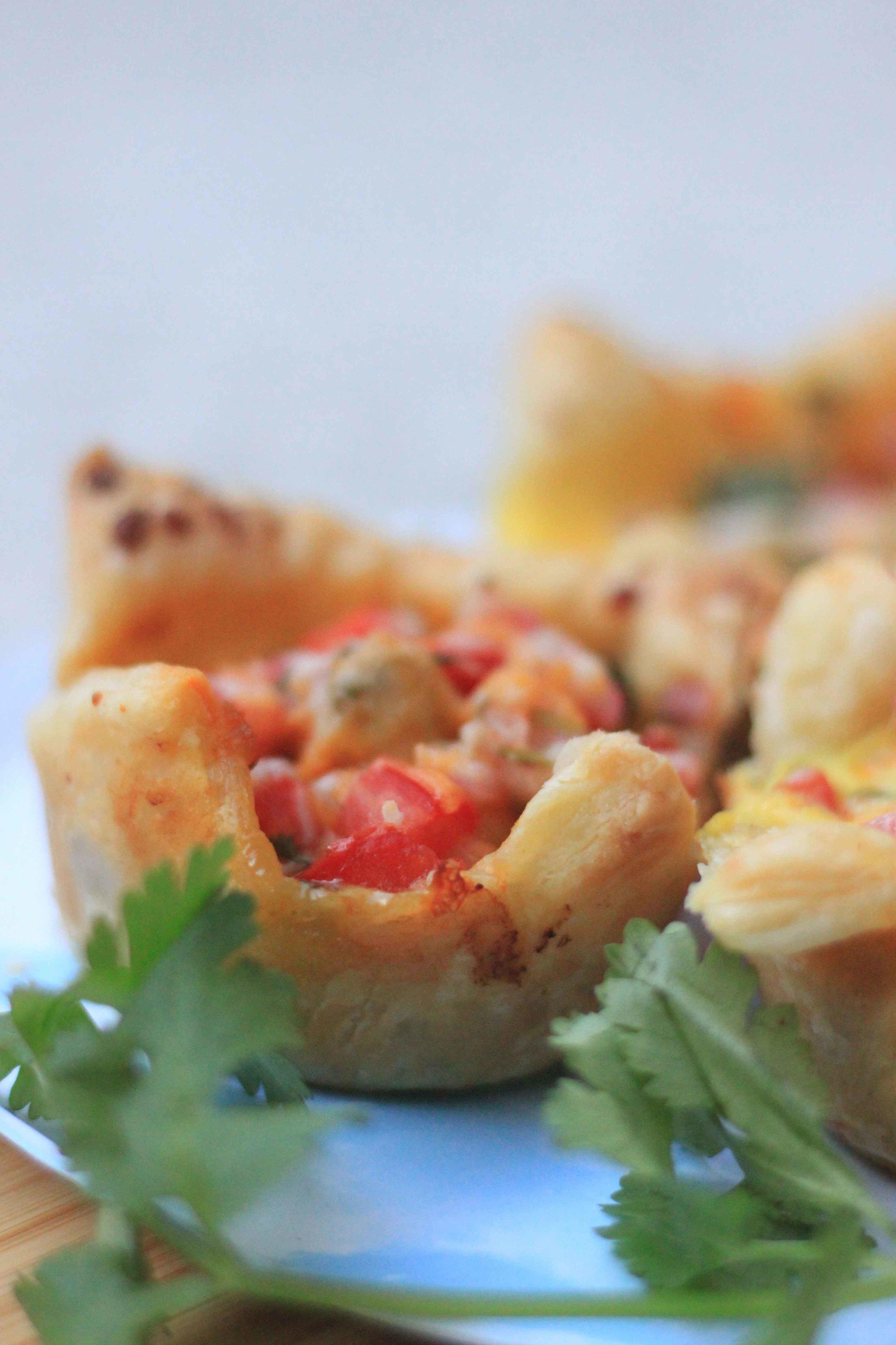 cheesy chole popover recipe charisma shah vegetarian