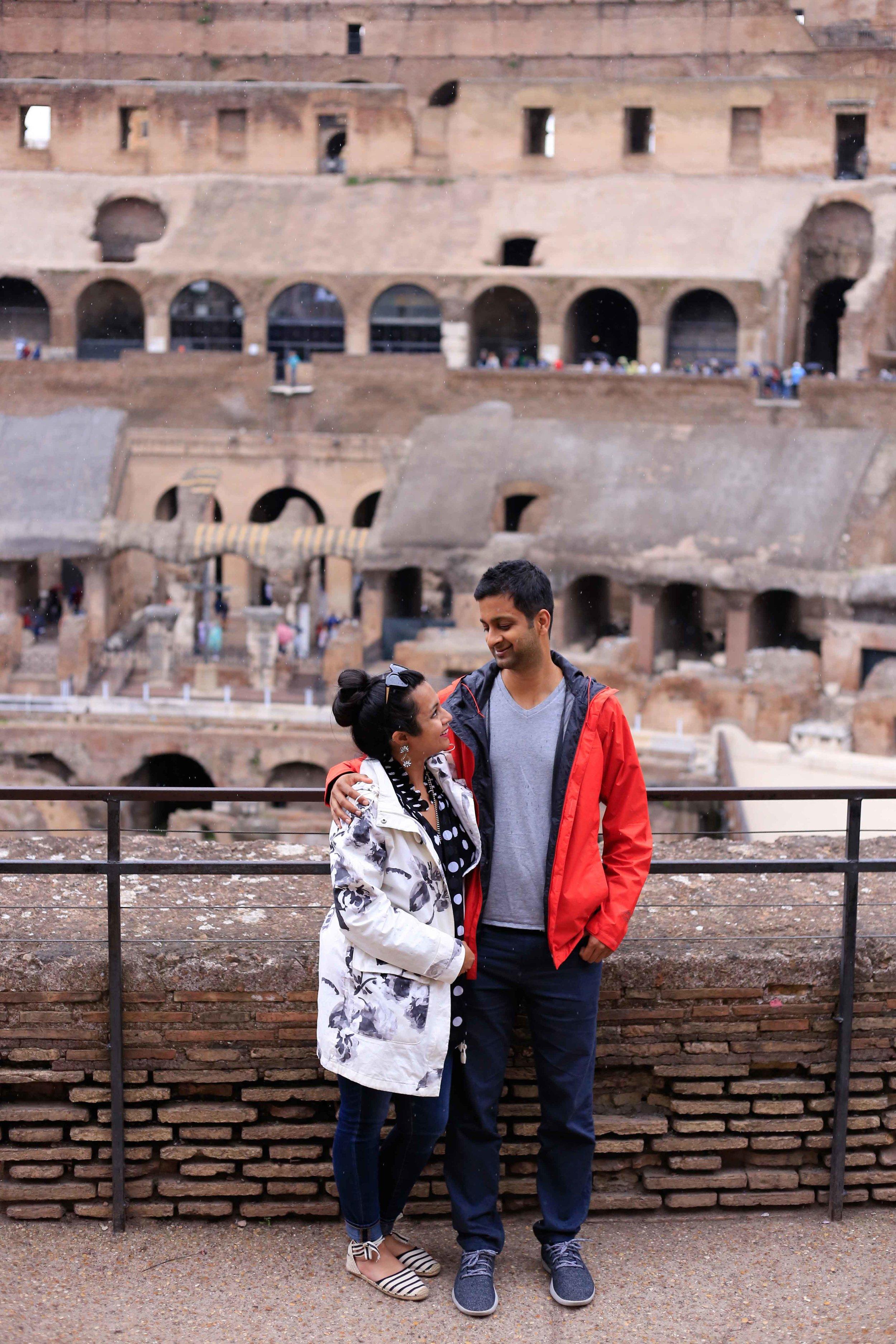 Colosseum Guide Roadtrip through Italy Tuscany Travel Guide Charisma Shah