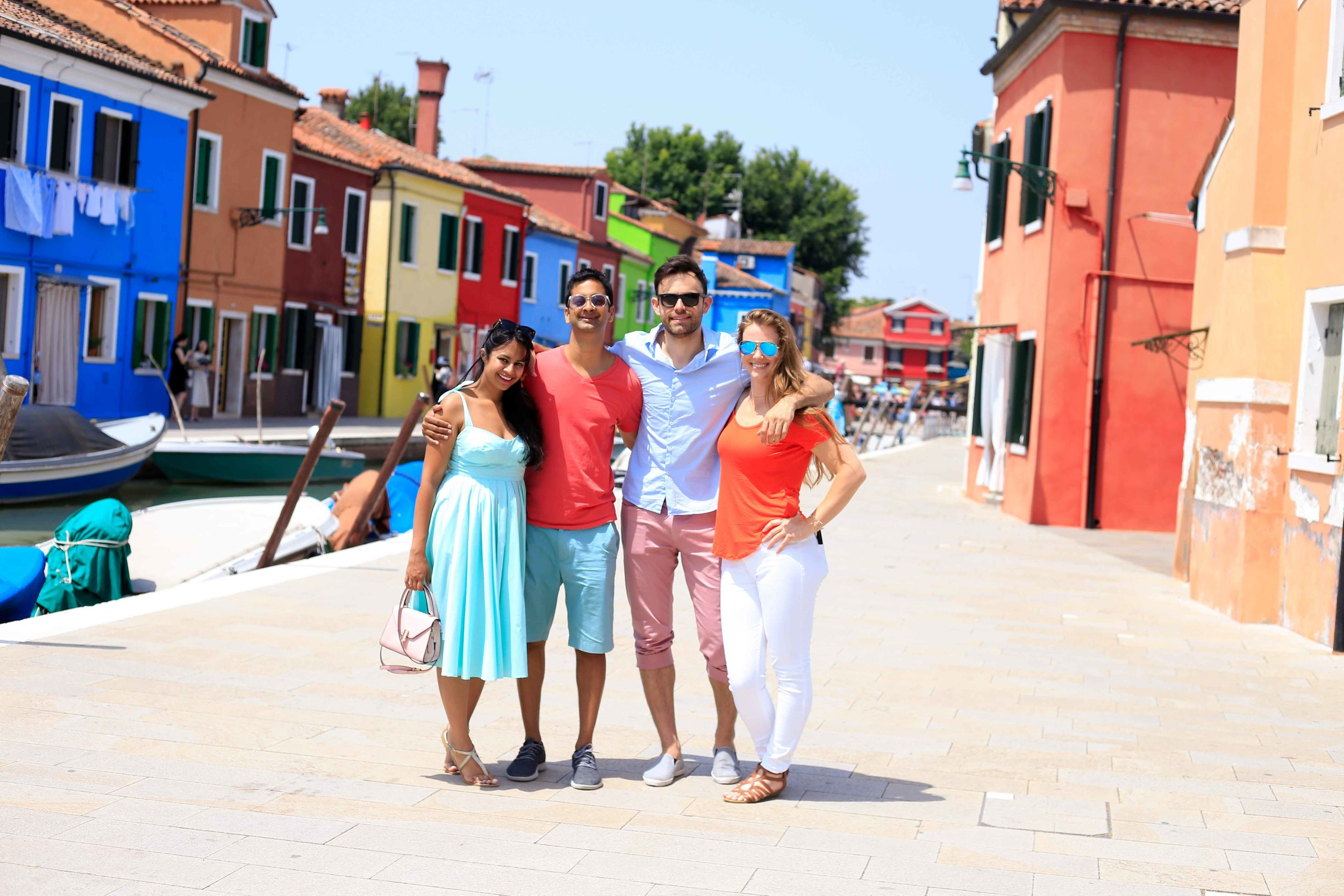 The charming city of Burano!