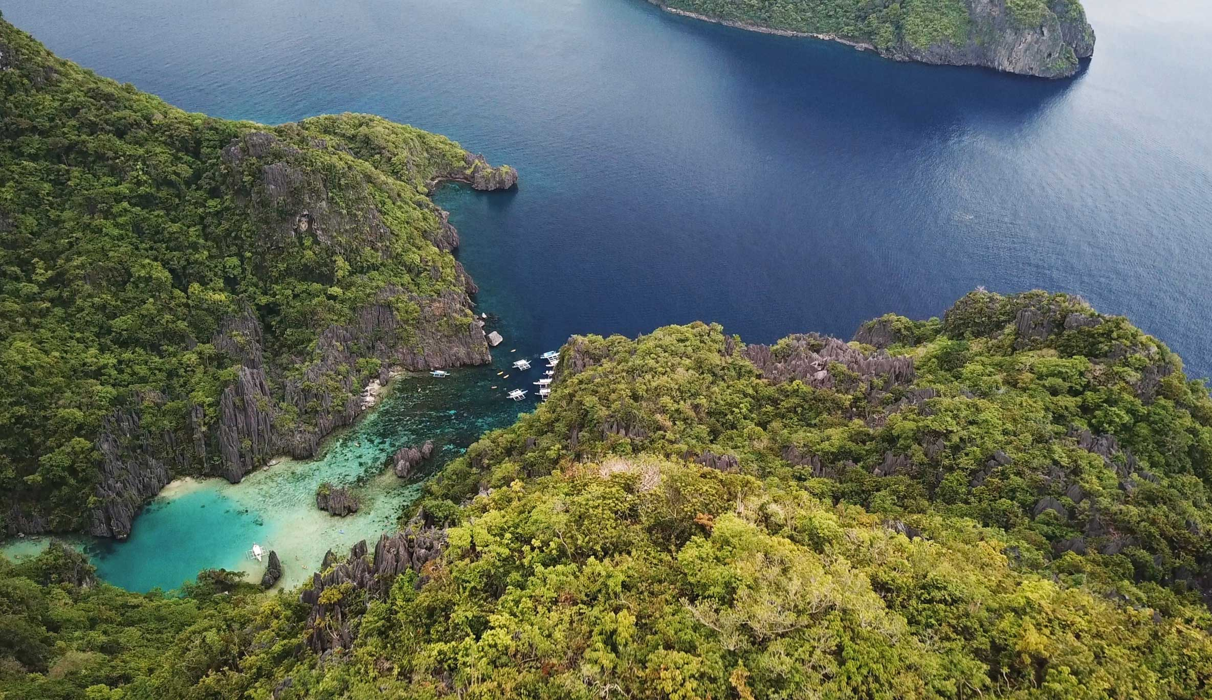 Cadlao Lagoon: the best snorkeling we've seen since the Maldives! 🐠 🐟 🦀 🐡 🐙