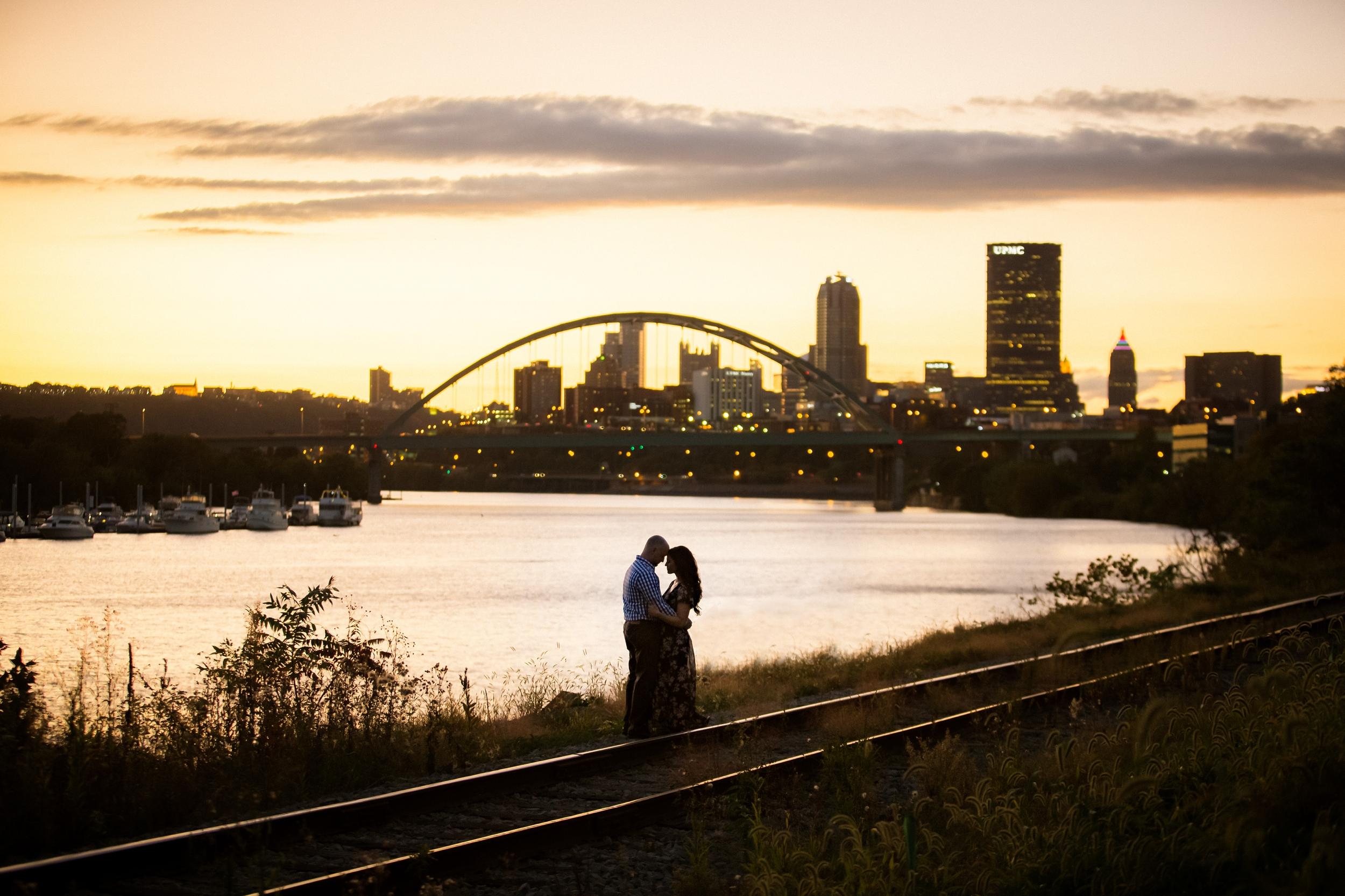Sunset Engagement Downtown Pittsburgh.jpg