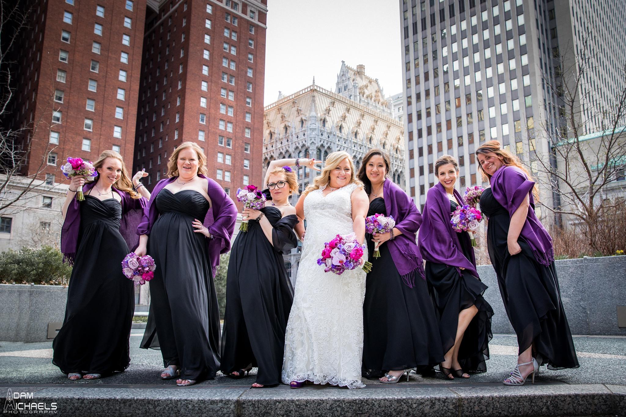 Mellon Square Pittsburgh Bride Wedding Portraits2112.jpg