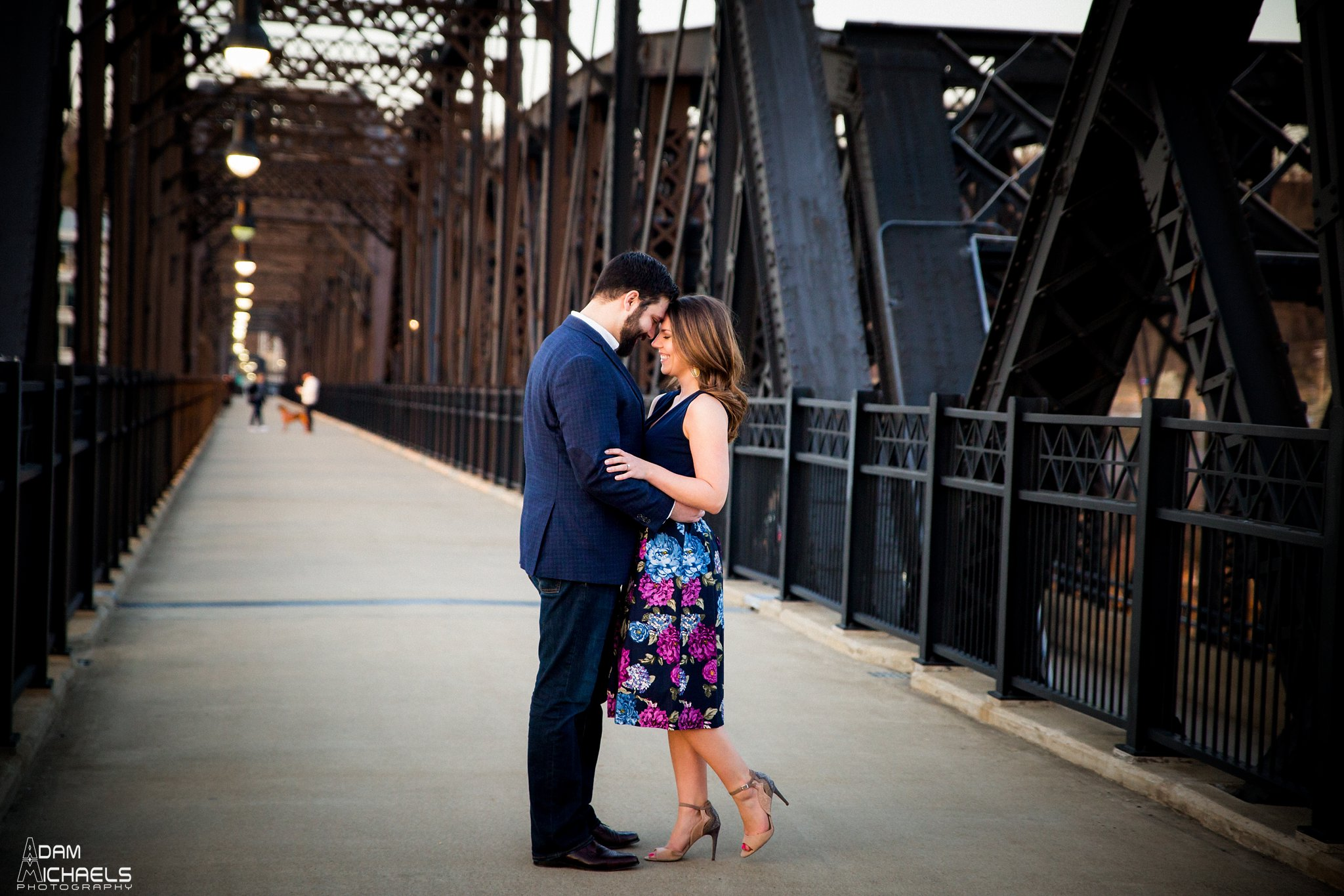 Hot Metal Bridge Sunset Engagement-19.jpg