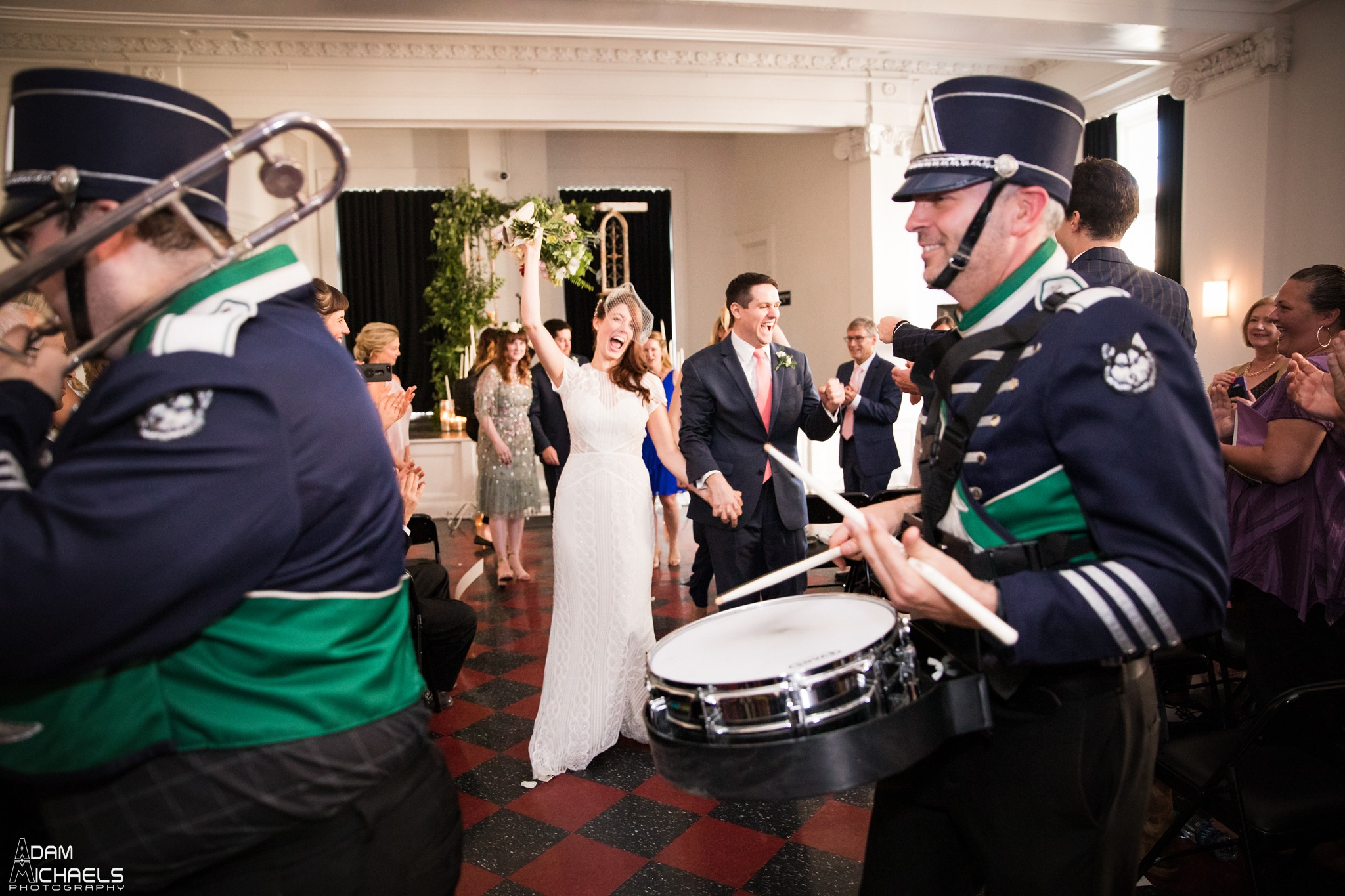 Ace Hotel Wedding Ceremony Marching Band_2359.jpg