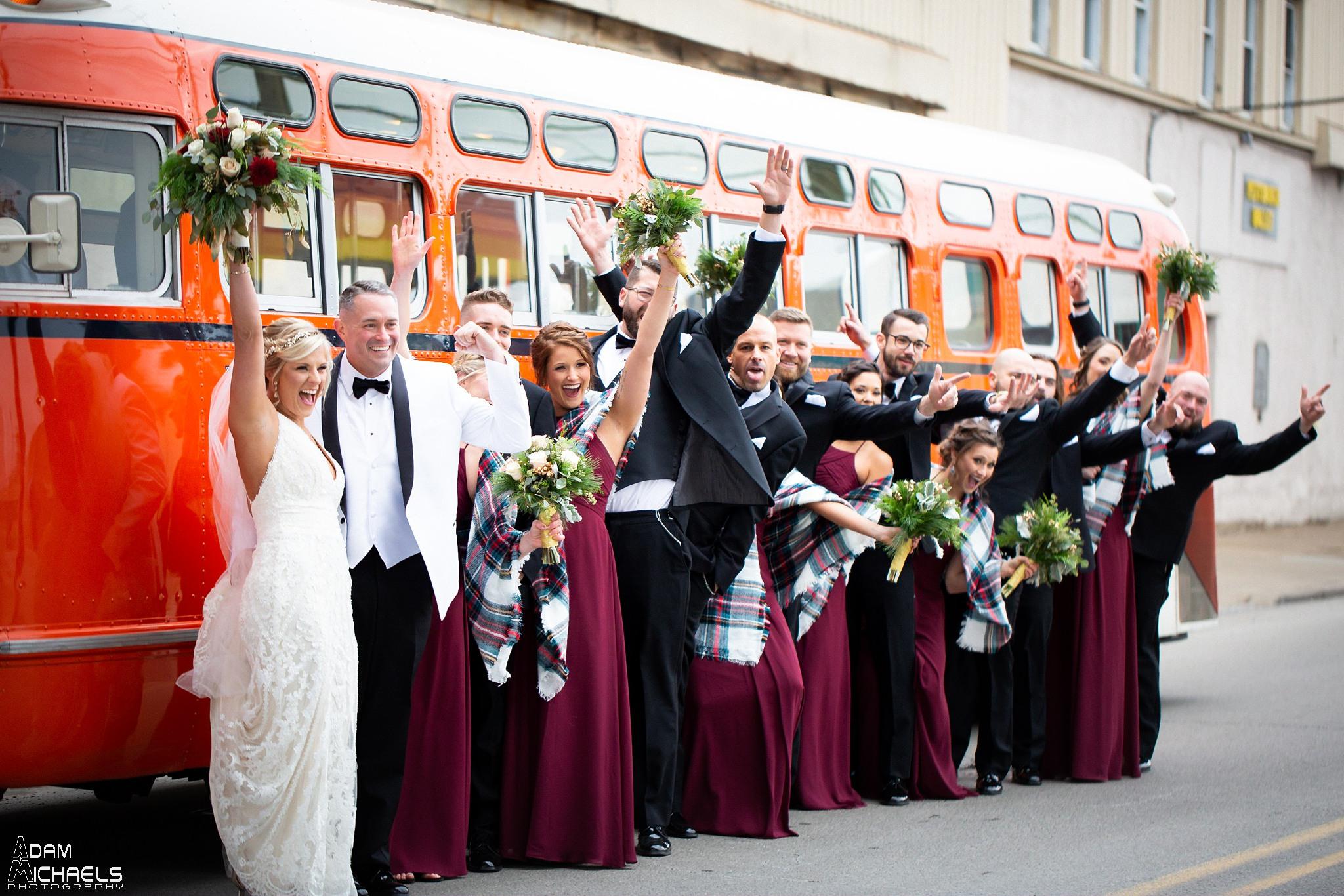 Pittsburgh Bus Wedding Pictures Trolley.jpg