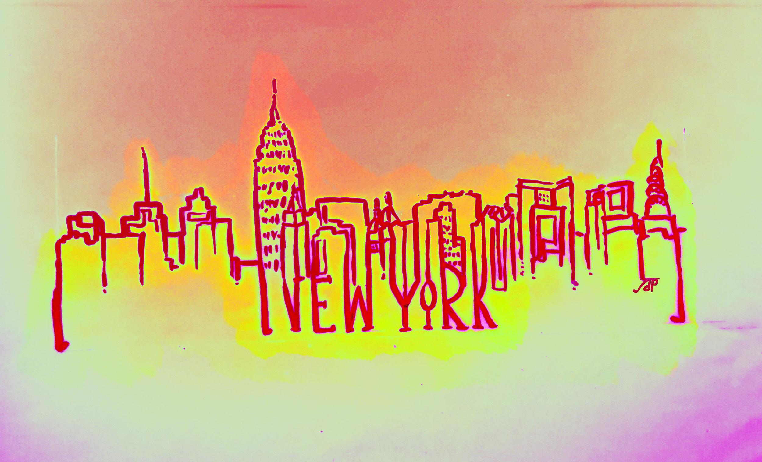 New York Sunrising
