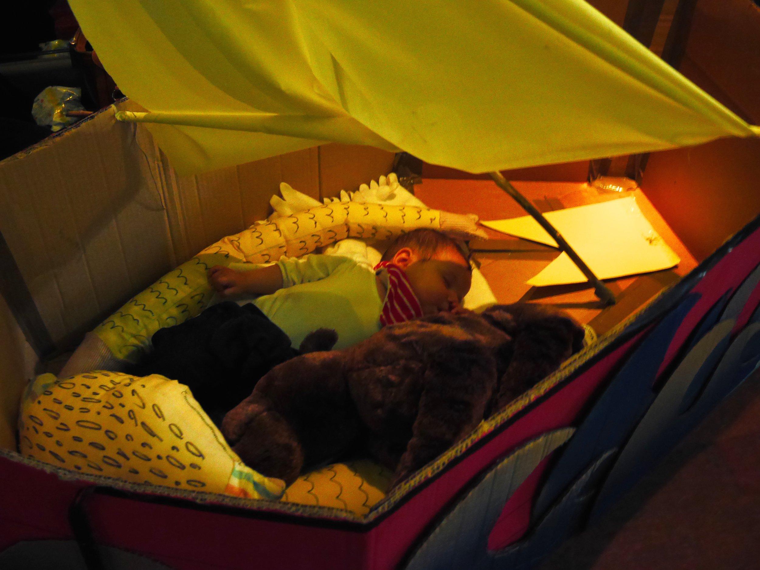 Baby in Max Boat.JPG