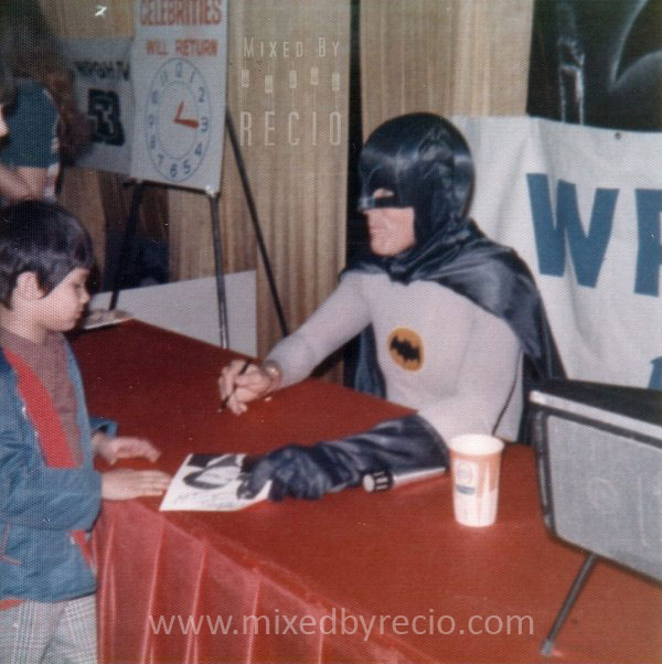I met the one and only    Adam West    (TV's Batman), circa 1975.