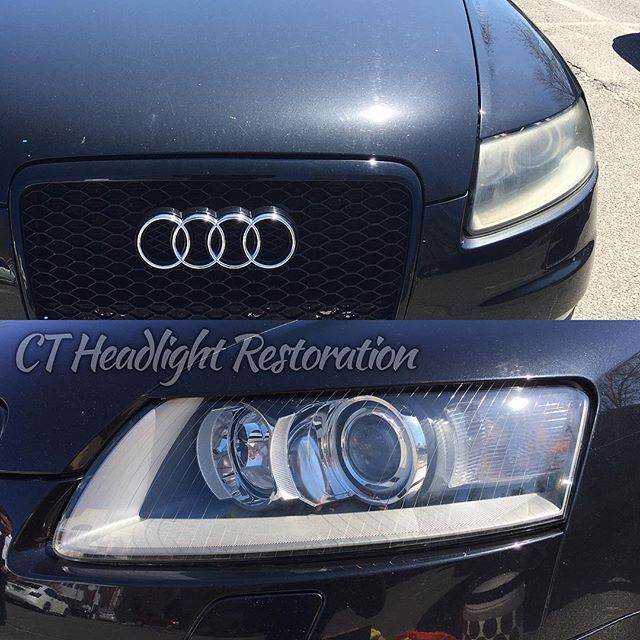 Audi S6 CT Headlight Restoration Connecticut.jpg