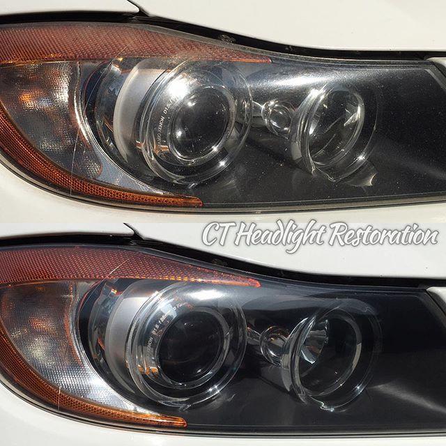 Connecitcut Headlight Restoration CT BMW 335 Xi.jpg