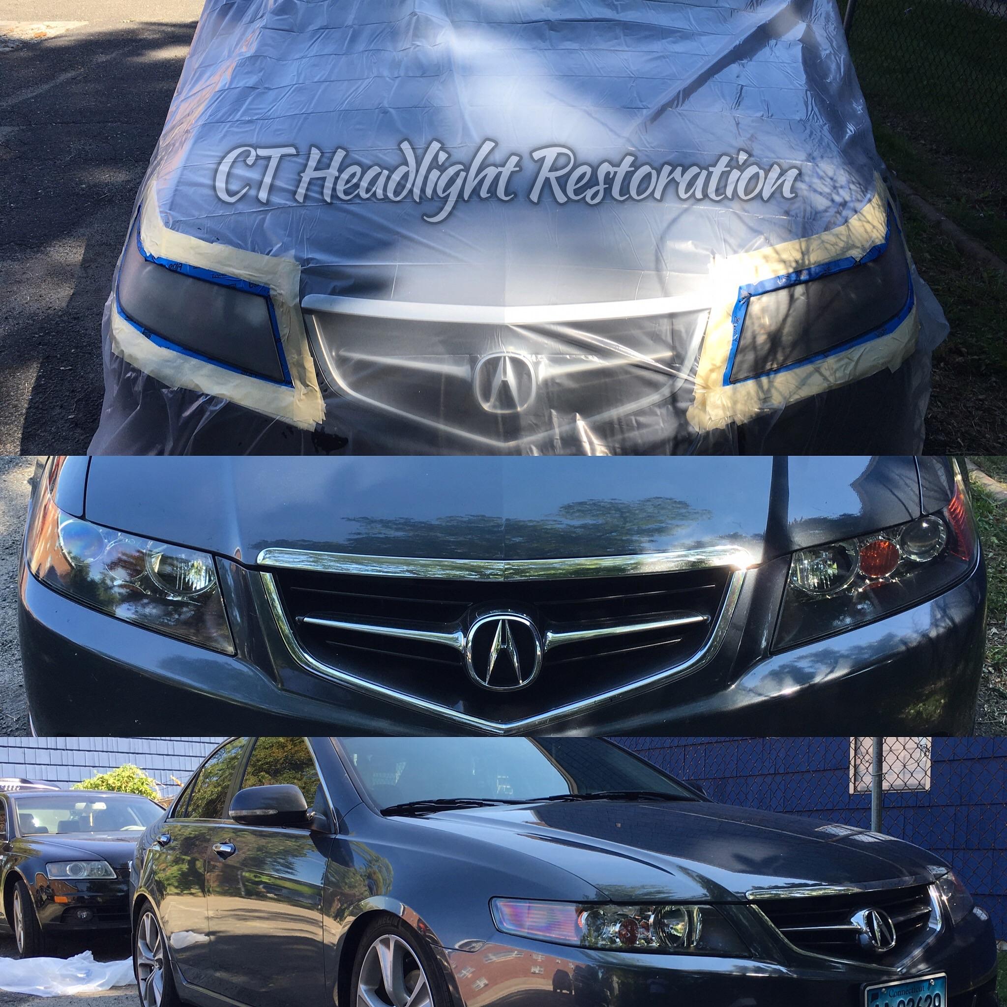 Acura Tsx Connecticut Headlight Restoration