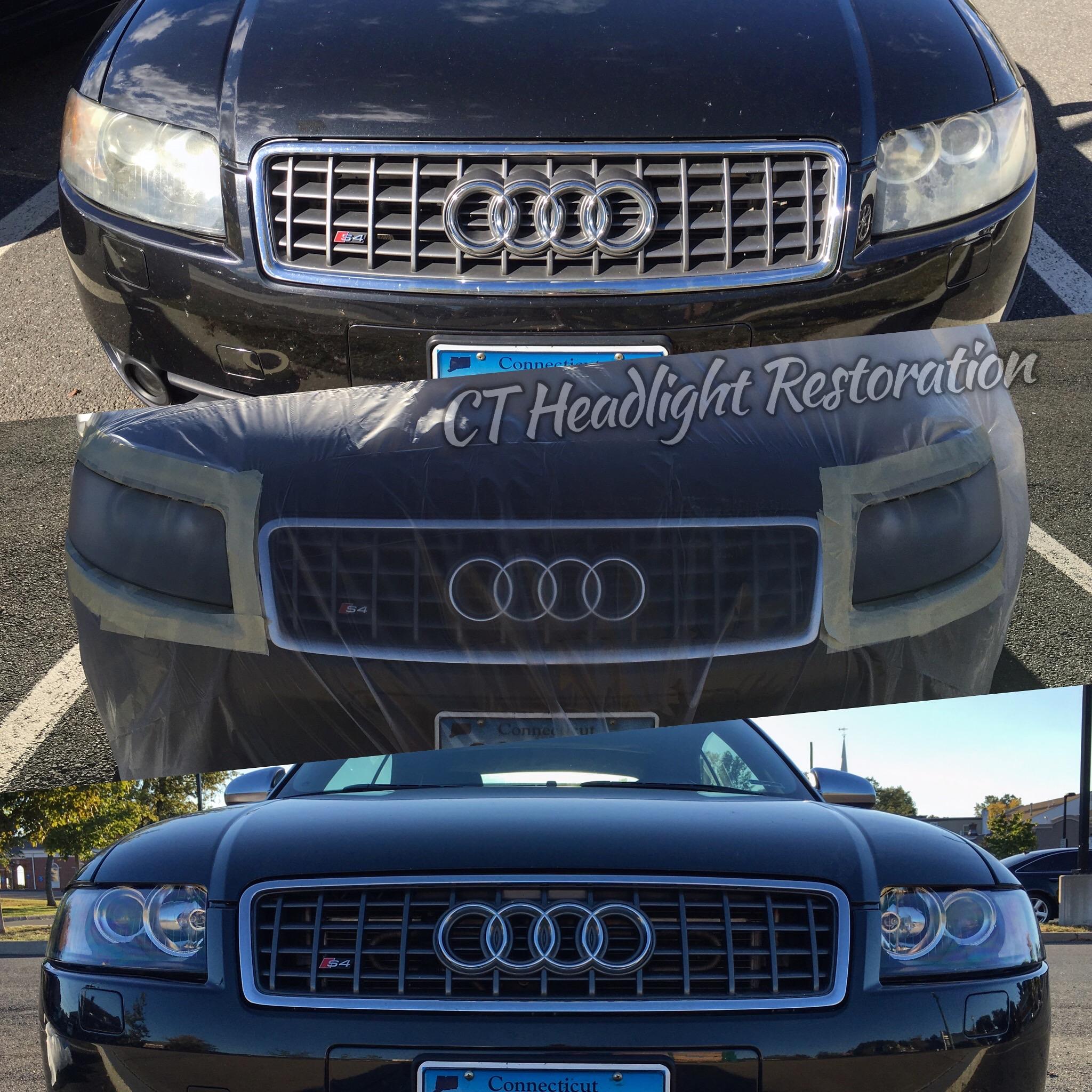 Audi S4 Connecticut CT Headlight Restoration Professional.jpg