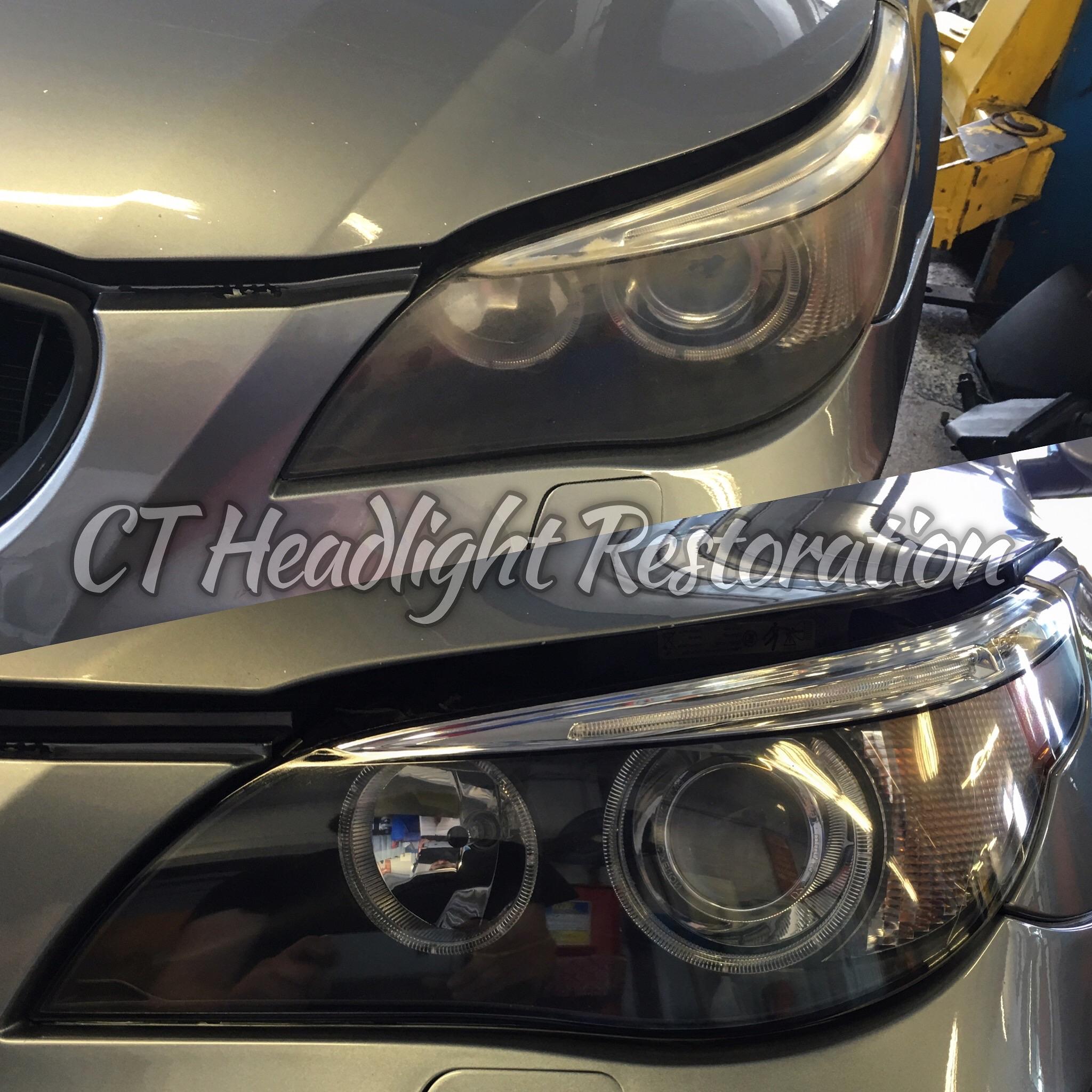 BMW M5 Connecticut Professional Headlight Restoration.jpg