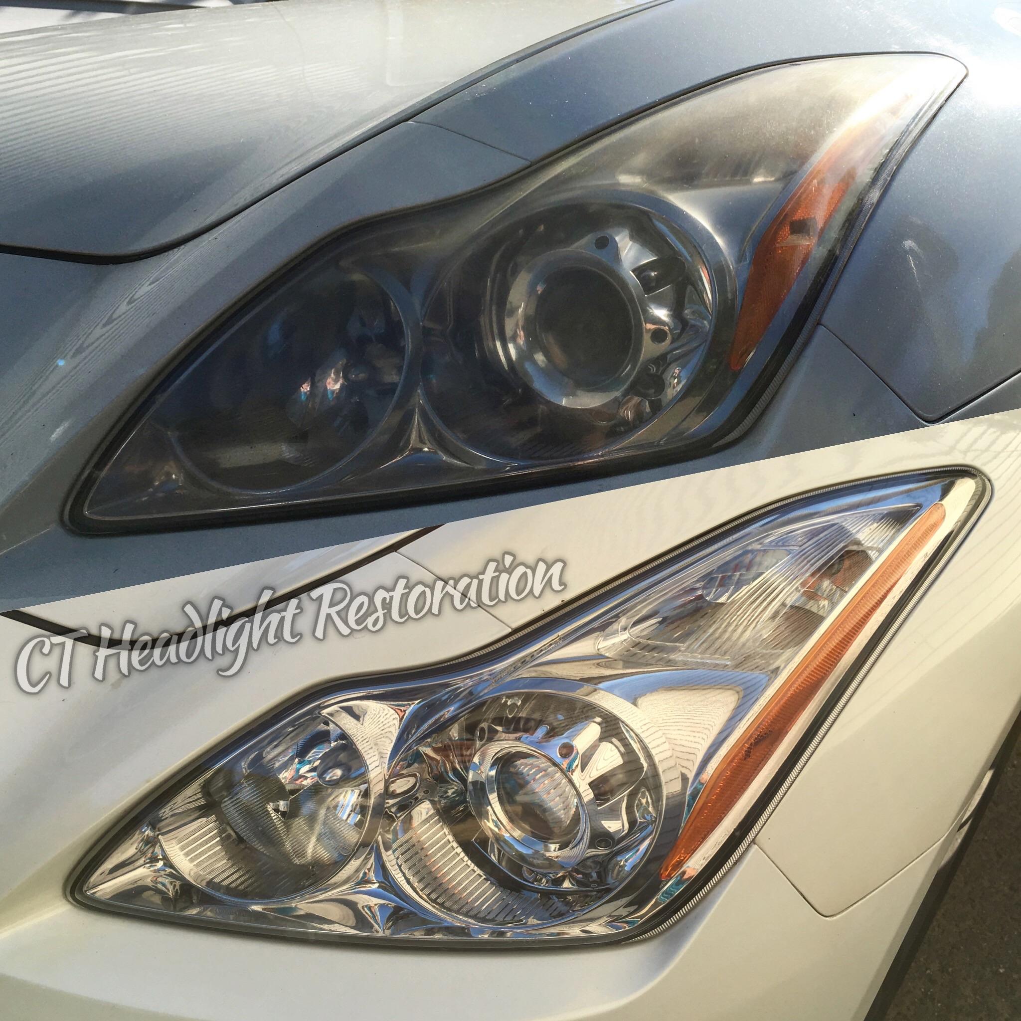 Infinity g37 Headlight Restoration.jpg