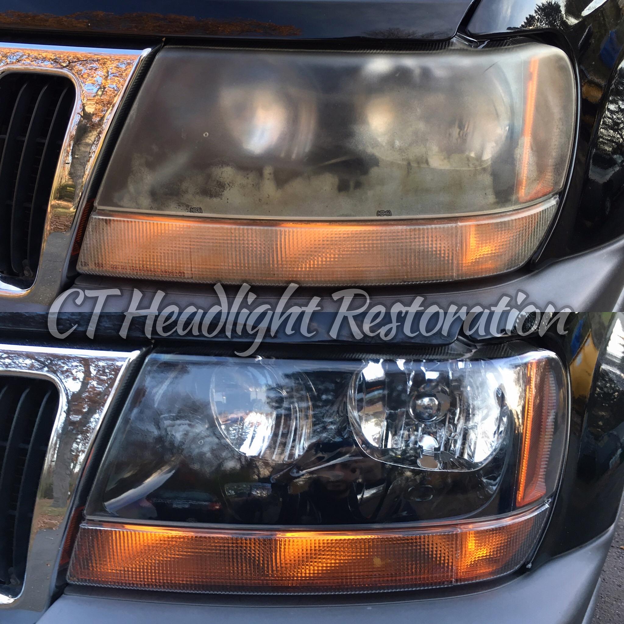 Jeep Grand Cherokee Connecticut Headlight Restoration.jpg