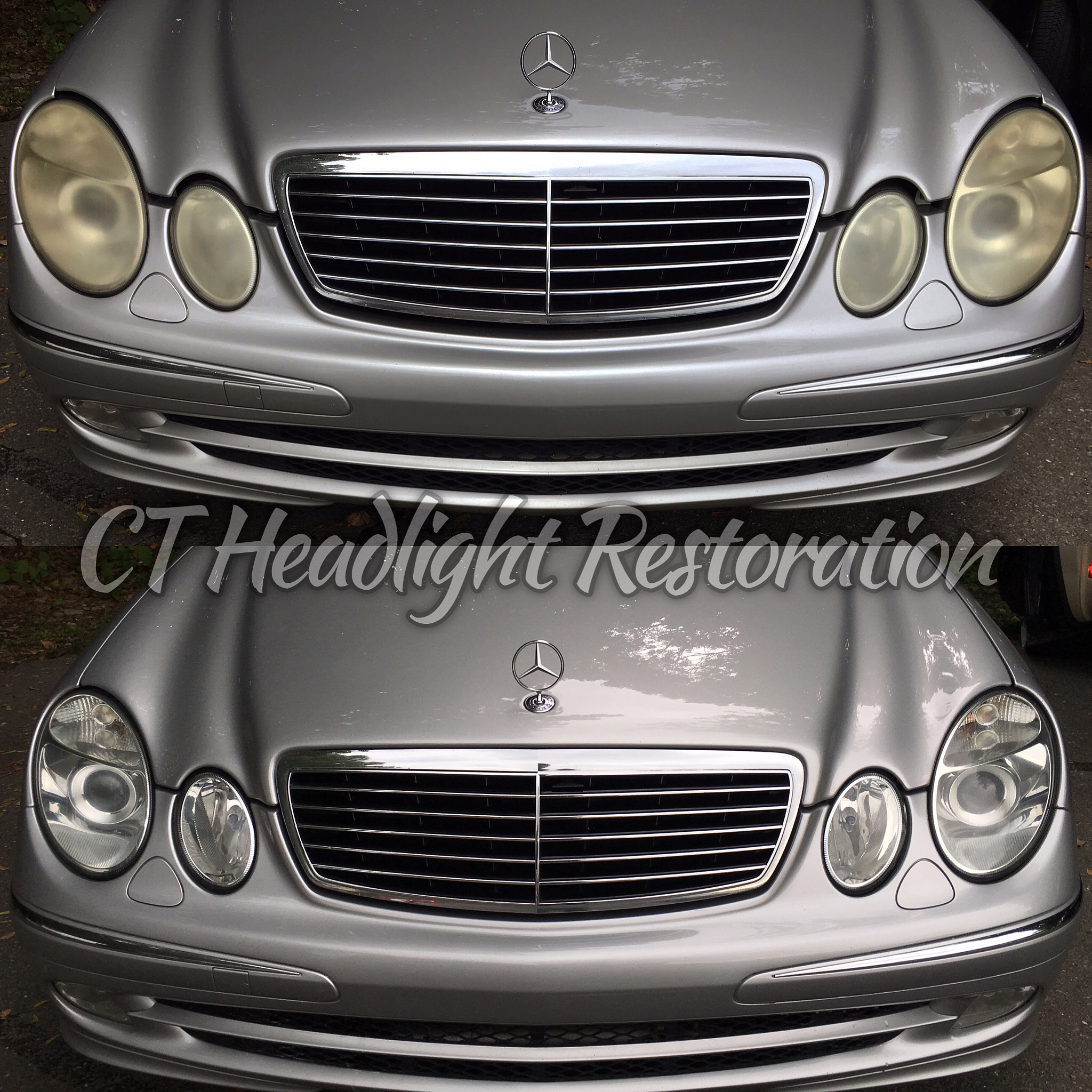 Mercedes Benz E-Class Yellow Headlight Fix.jpg