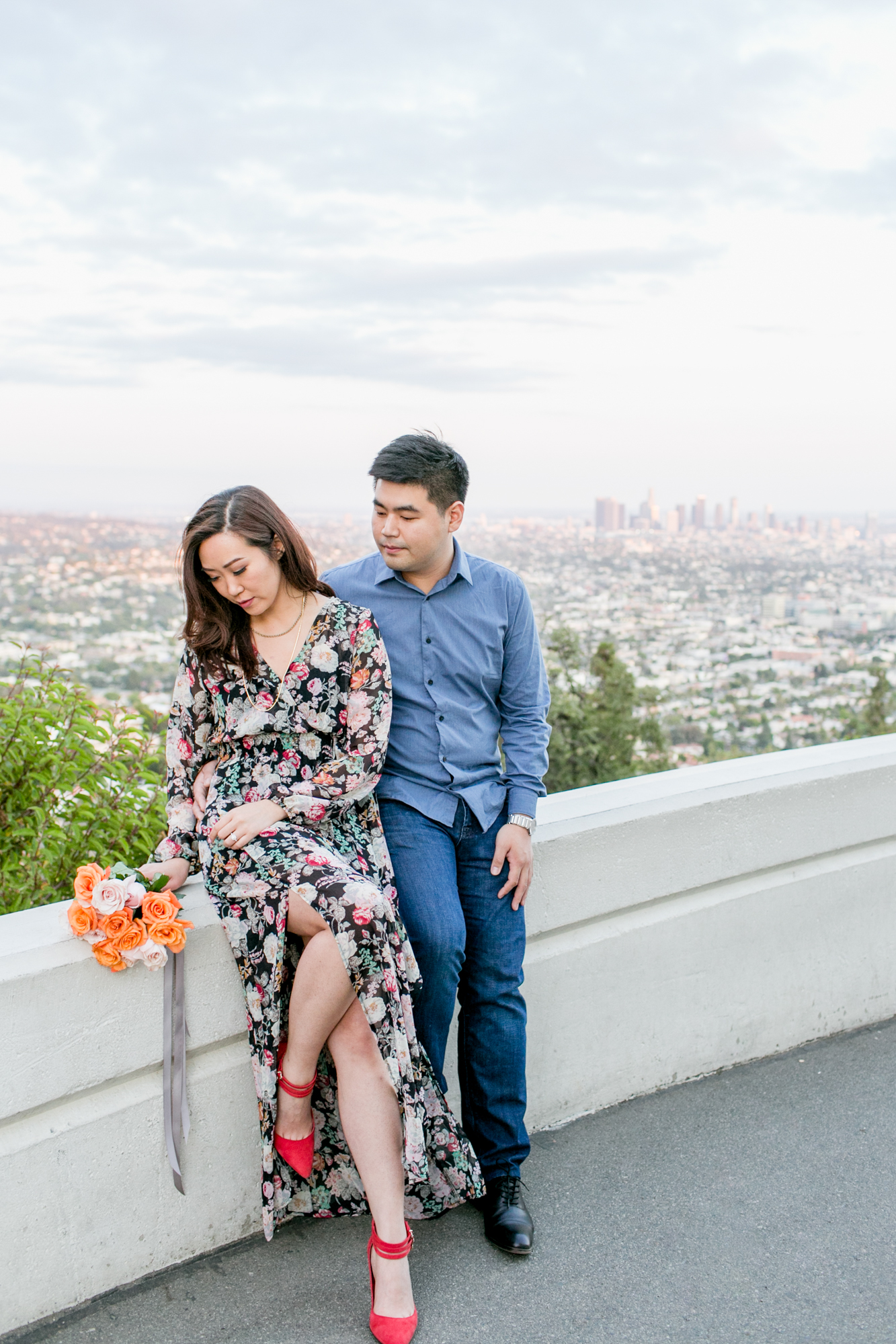 Lovisa Photo- Engagement Photography- Griffith Observatory- Los Angeles, California