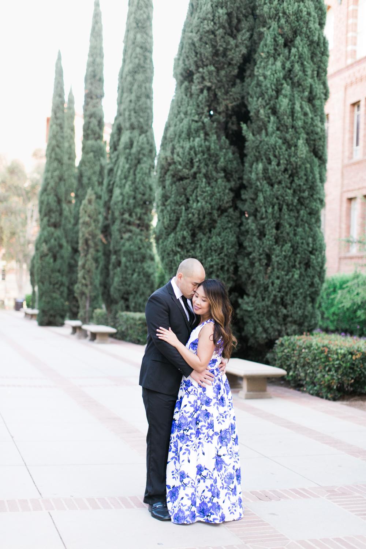 UCLA Engagement Session by Malibu Wedding Photographer Lovisa Photo.