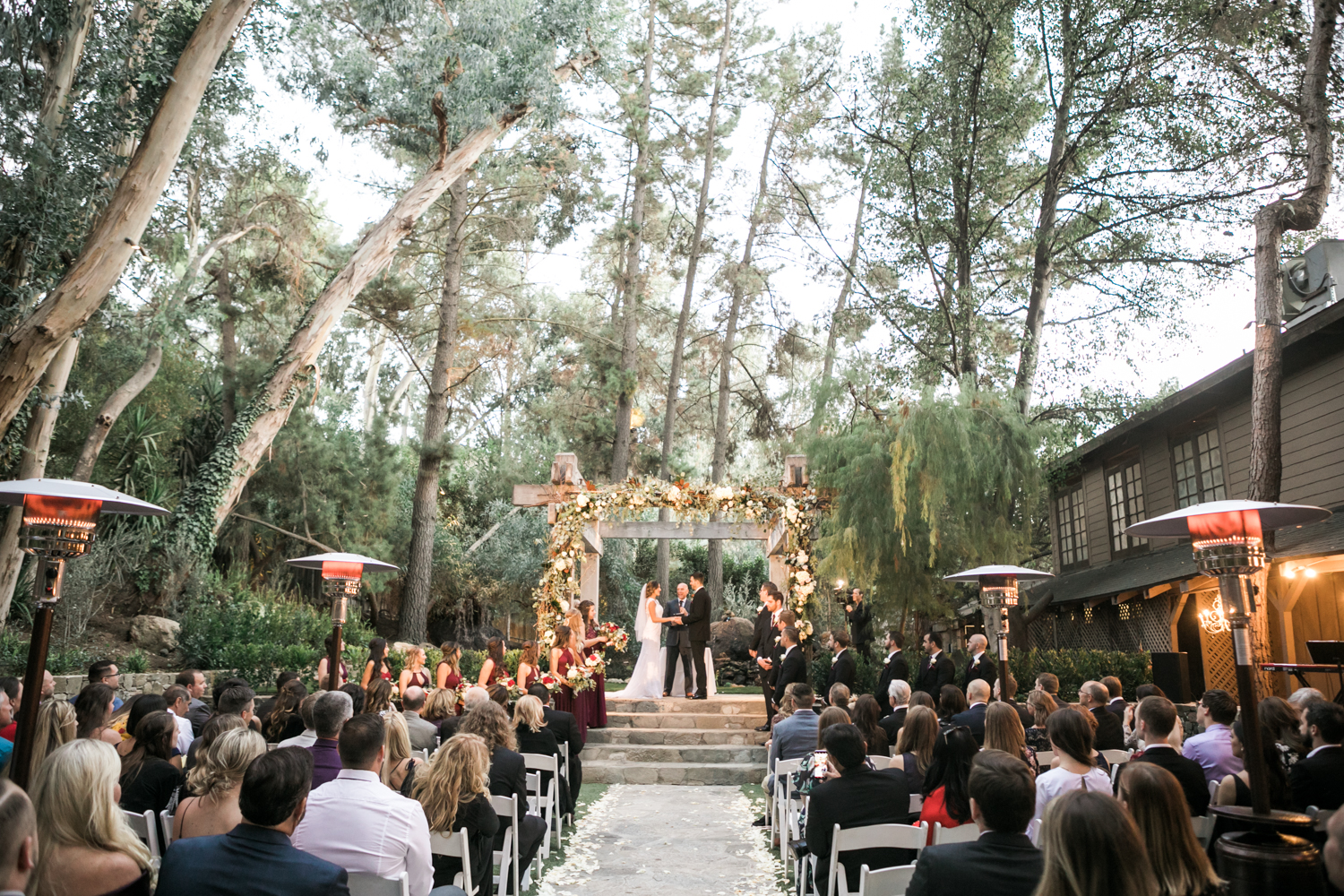 Calamigos Ranch Wedding- Redwood Room