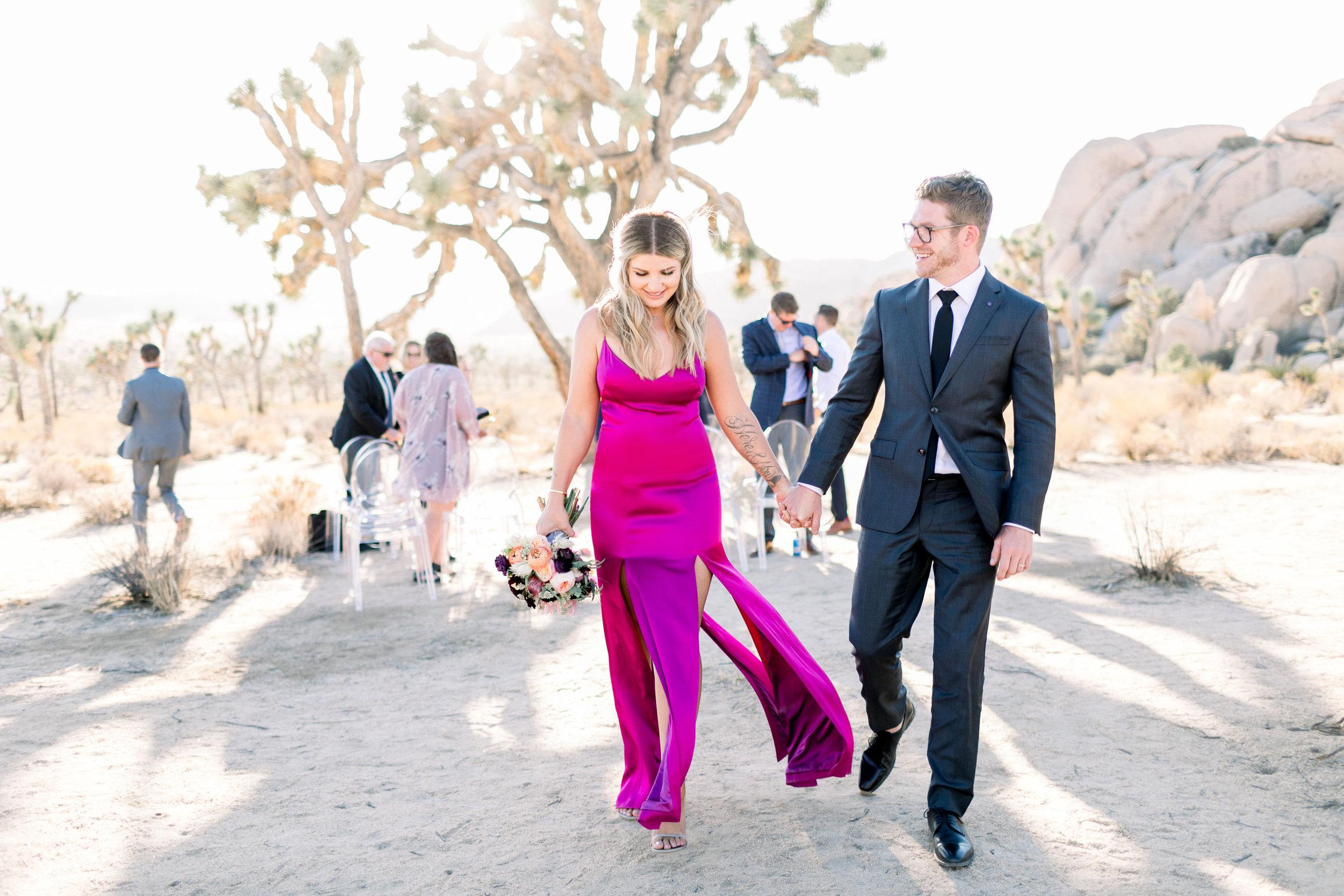 Joshua Tree Elopement Photographer- L'Horizon Palm Springs Wedding