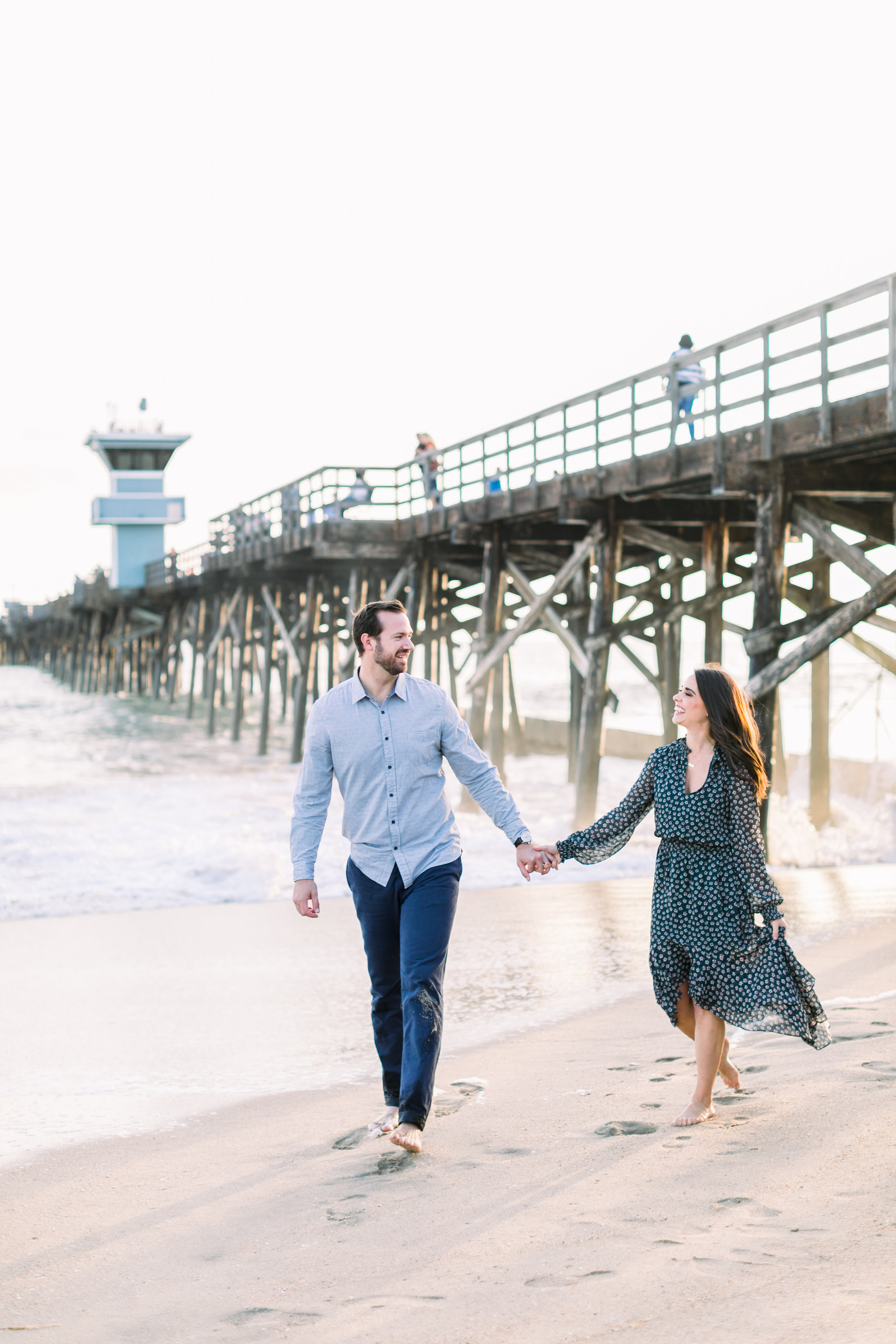 Orange County Holiday Mini-Sessions - Seal Beach Pier