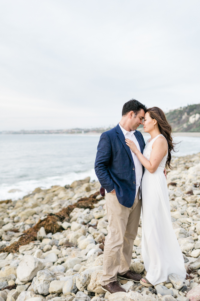 Malaga Cove Engagement Photos
