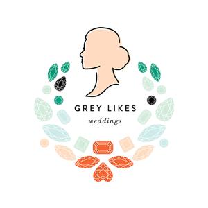Grey Likes Weddings Badge