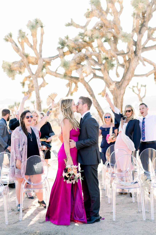 Joshua Tree Elopement- L'Horizon Palm Springs Wedding