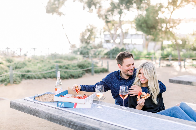 Santa Monica Engagement Session - Palisades Park