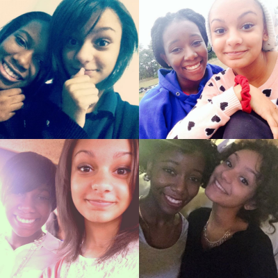 Courtney and I from 9th to 12th grade.