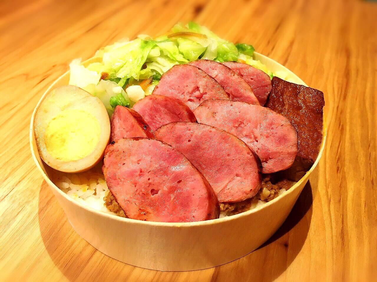 Classic Taiwanese Sausage Bento Box