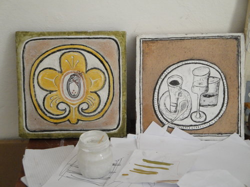 Gilding and Gesso Work Italy