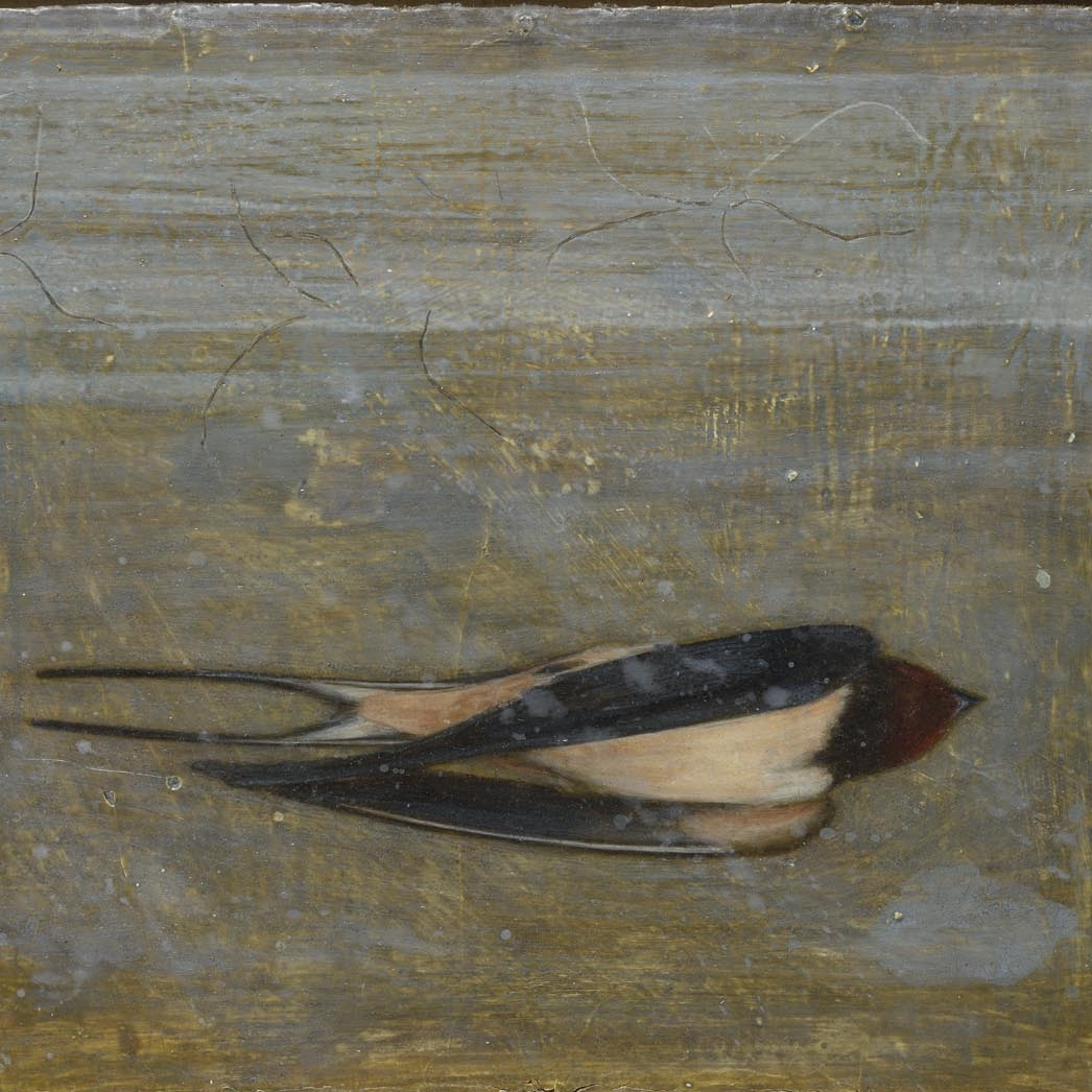 Carey Mortimer_Early Bird_egg tempera and oil on gessoed cloth_28x35cm.jpg