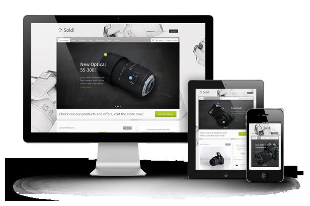 RESPONSIVE WEB DESIGN MOBILE WEBSITE