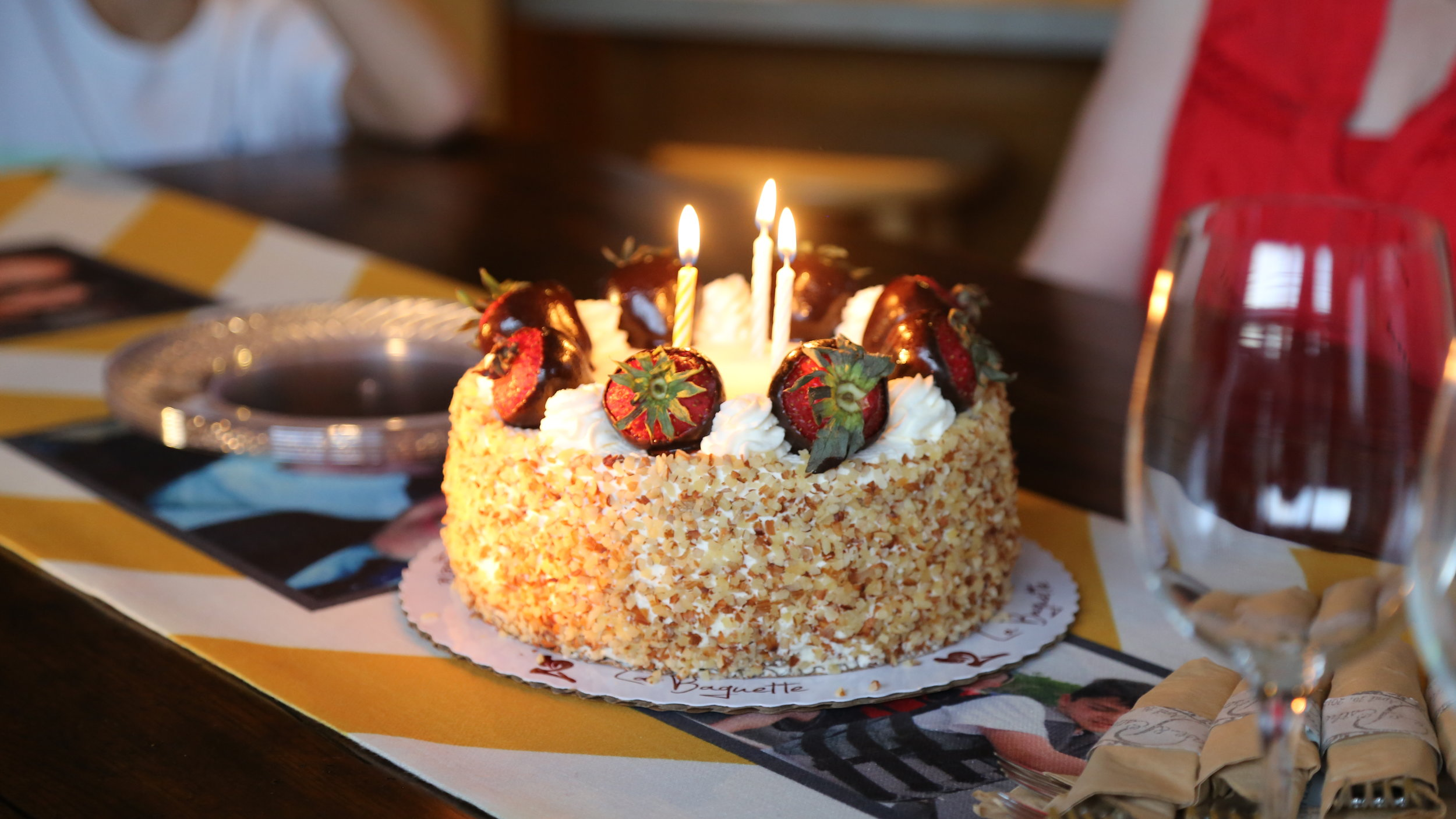 candle birthday cake with strawberries and cream.JPG